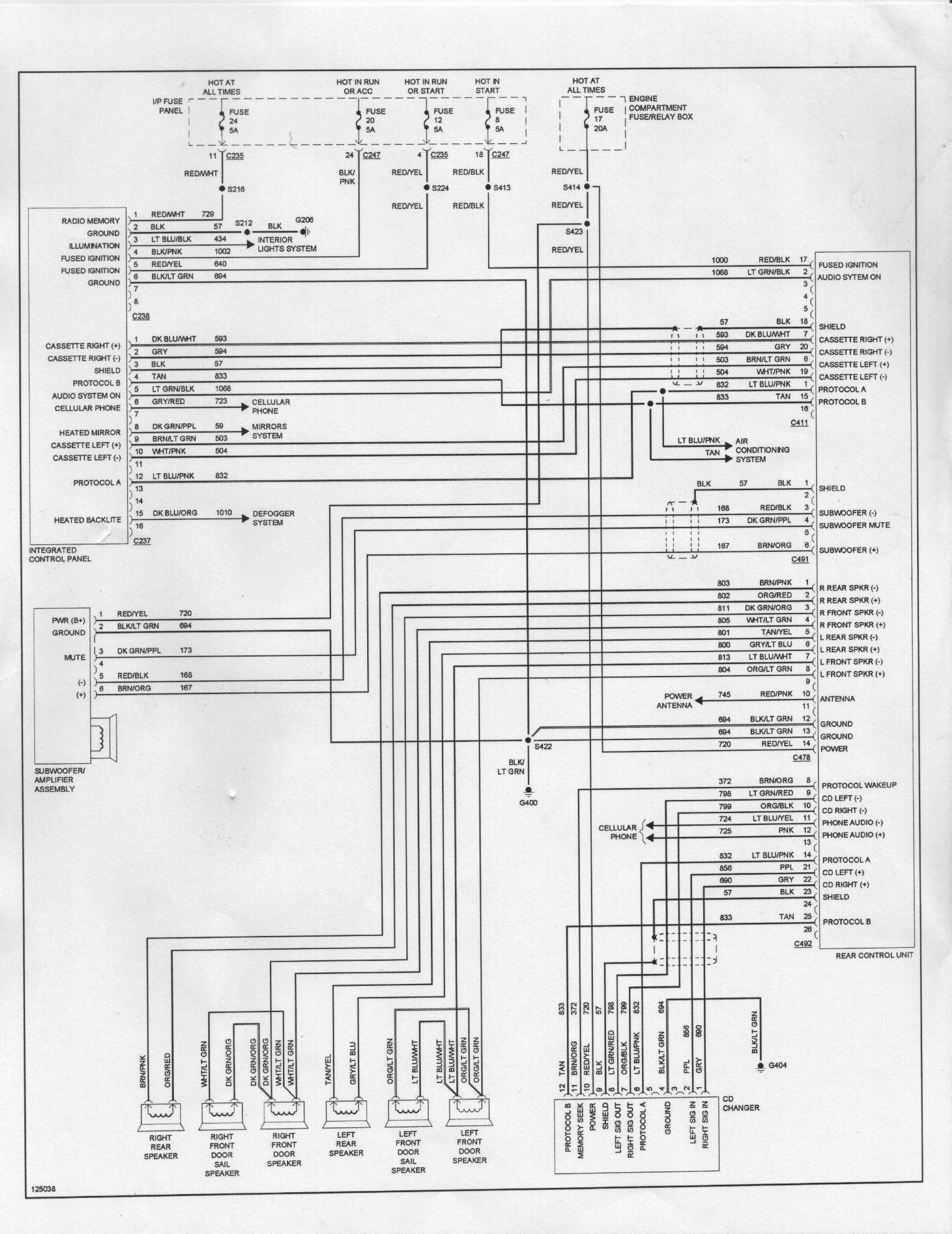 2002 ford Taurus Wiring Diagram 2002 ford Taurus Wiring Diagram New 1995 In Of 2002 ford Taurus Wiring Diagram