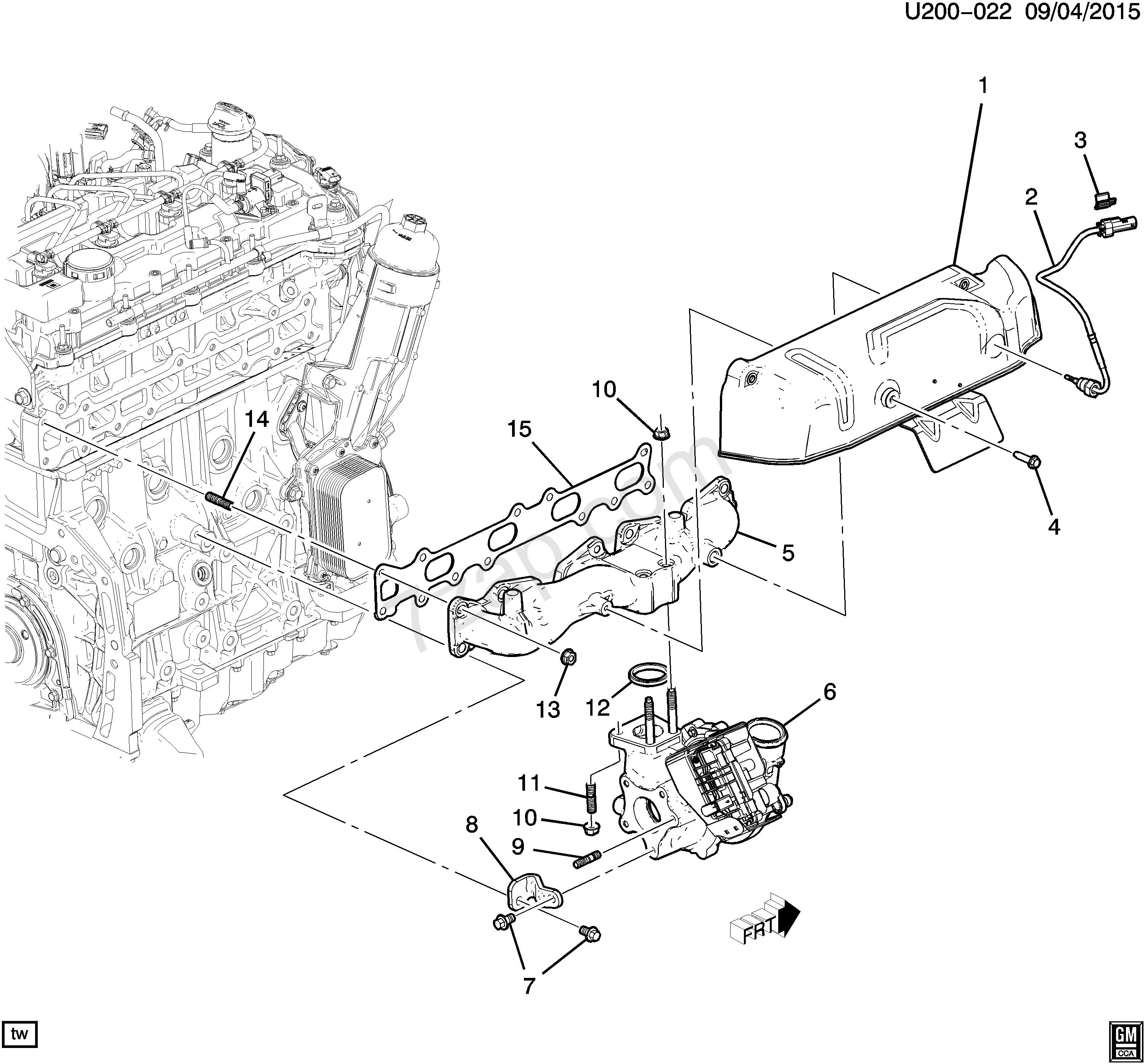 2004 chevy colorado engine diagram intake manifold wtf