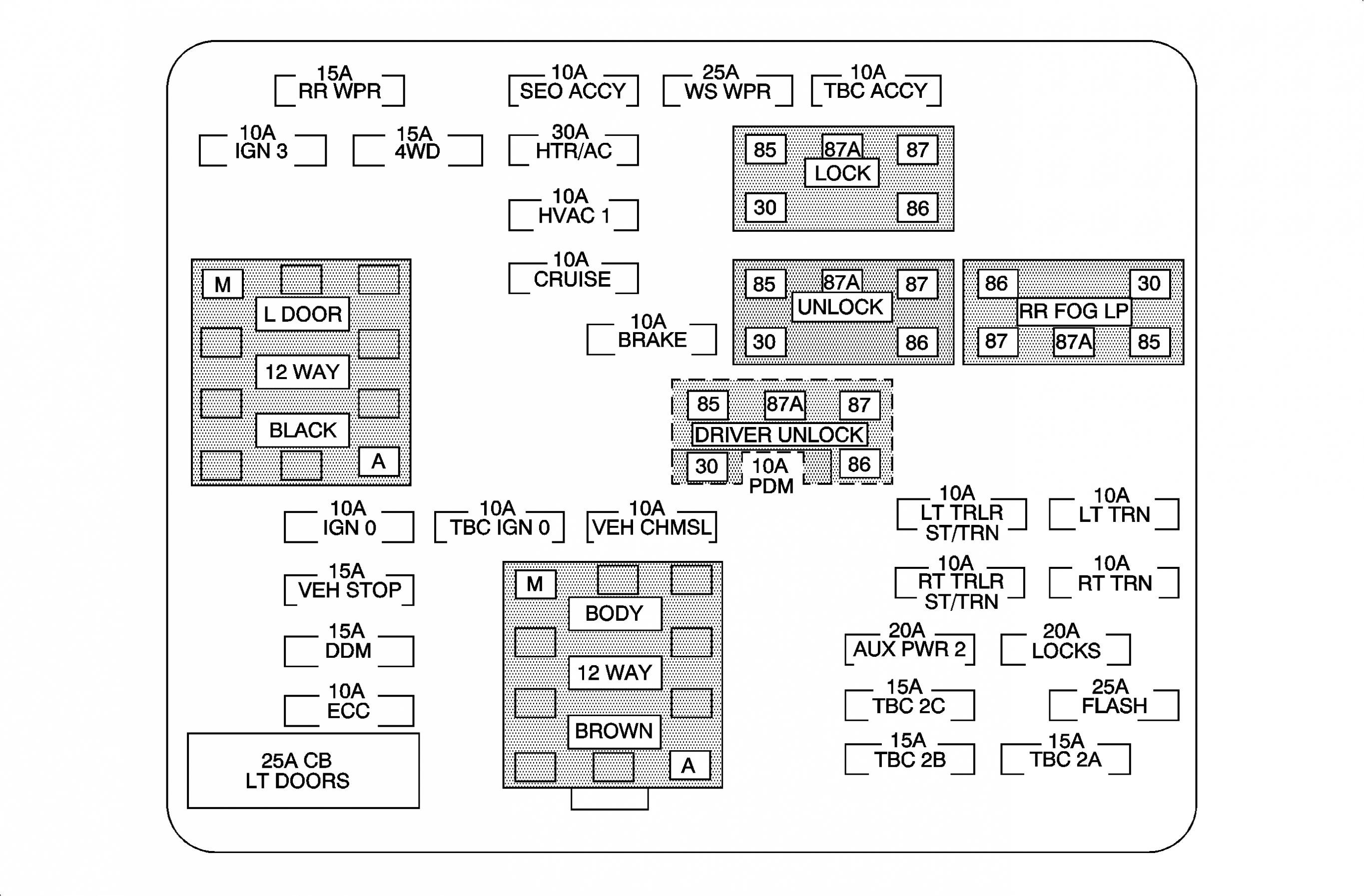 2005 Chevy Equinox Wiring Diagram 2005 Chevy Equinox Fuse Box Layout Smart Wiring Diagrams • Types