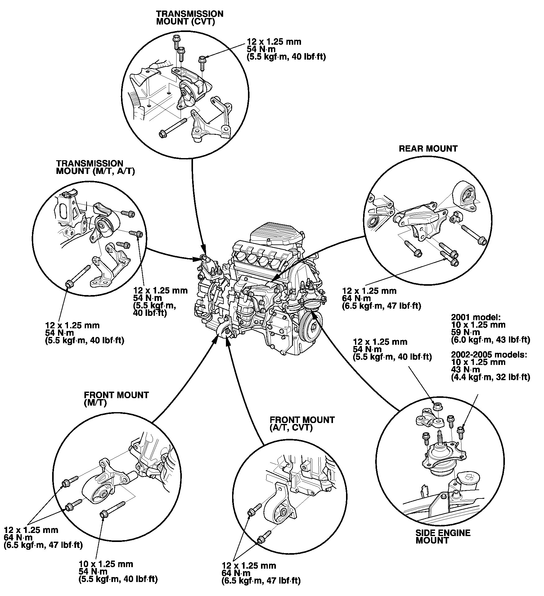 2005 Honda Civic Engine Diagram How Do You Remove and Replace Front Engine Motor Mount for A 2004 Of 2005 Honda Civic Engine Diagram