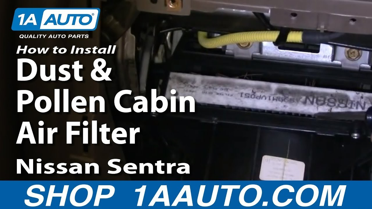 2006 Nissan Sentra Engine Diagram How to Install Replace Dust and Pollen Cabin Air Filter Nissan Of 2006 Nissan Sentra Engine Diagram