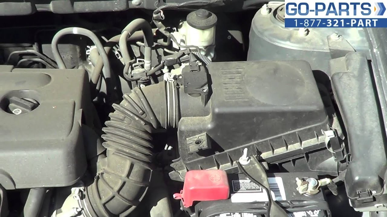 2006 Toyota Corolla Engine Diagram 2002 Prius Another Replace 2003 2008 Air Filter How To Change Install