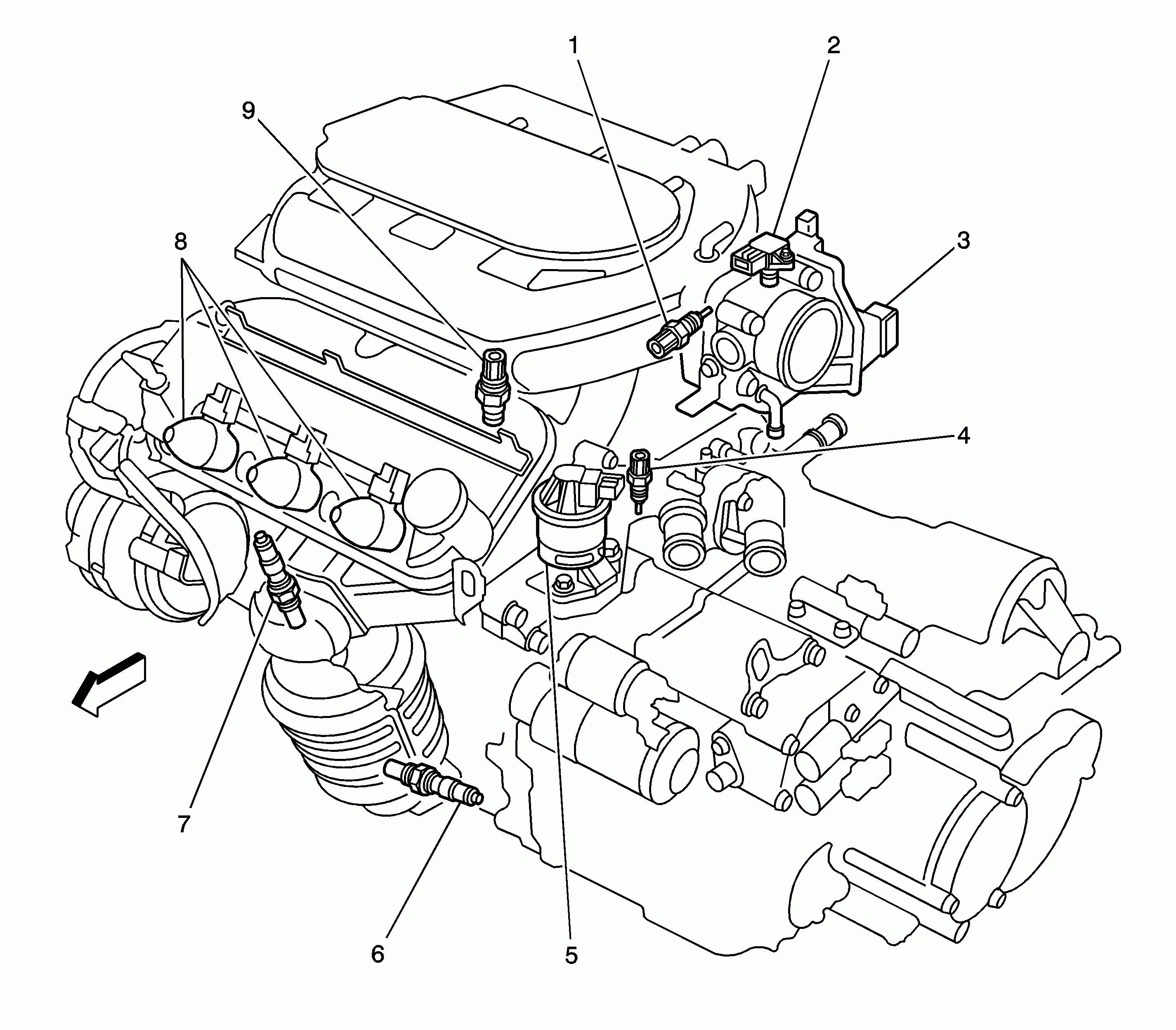 2007 saturn aura engine diagram