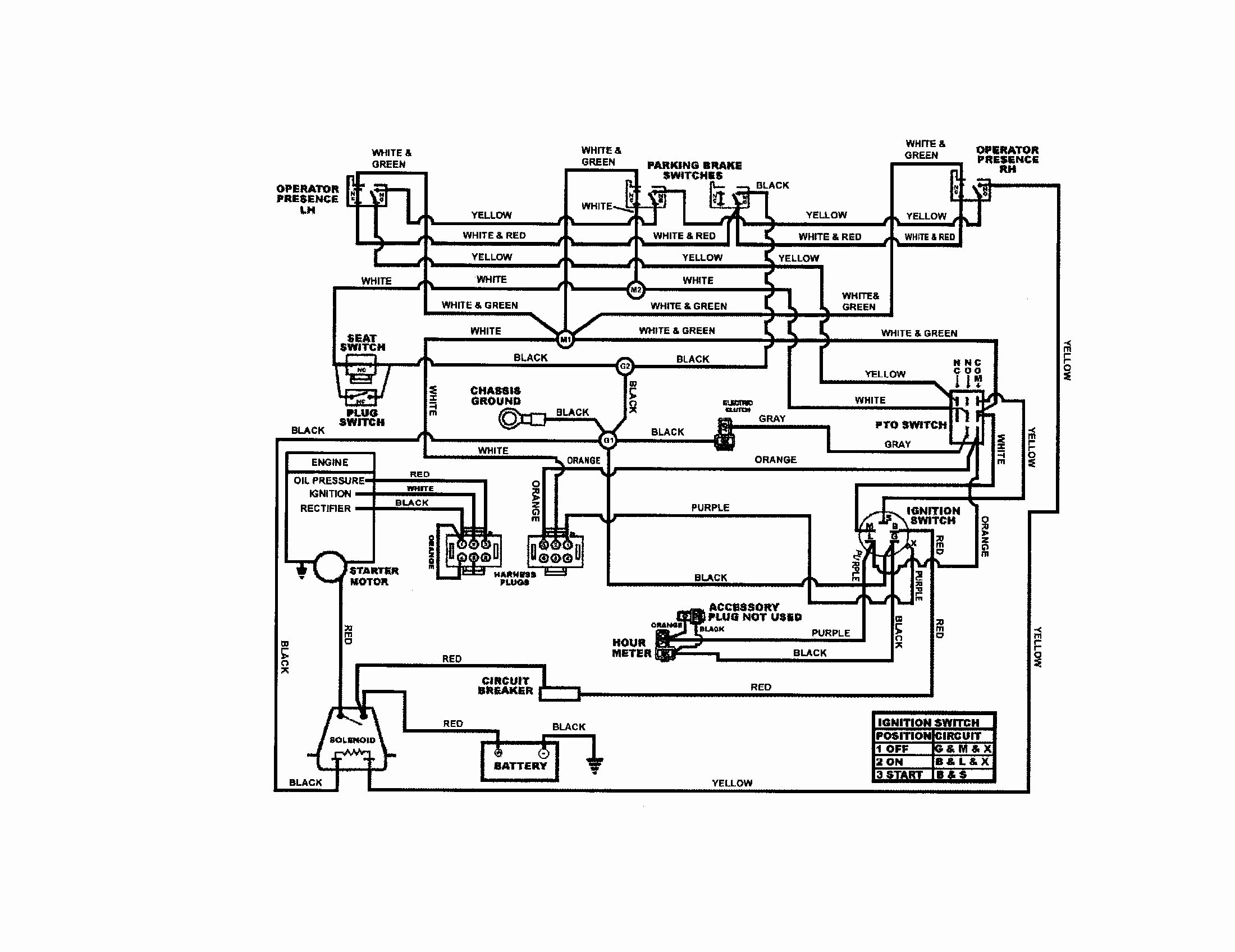 Kohler Ignition Switch Wiring Diagram - General Wiring Diagram