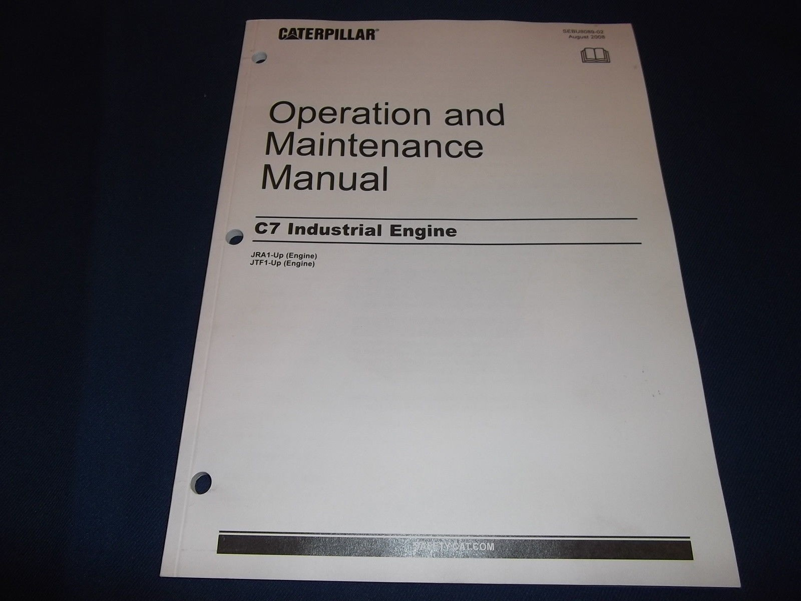 3208 Cat Engine Parts Diagram Cat Caterpillar C7 Industrial Engine Operation & Maintenance Manual Of 3208 Cat Engine Parts Diagram