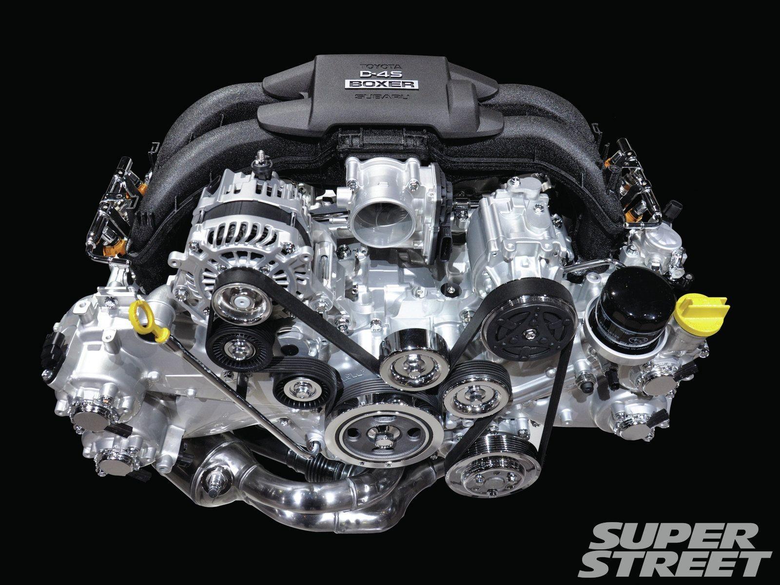 4 Cylinder Engine Diagram