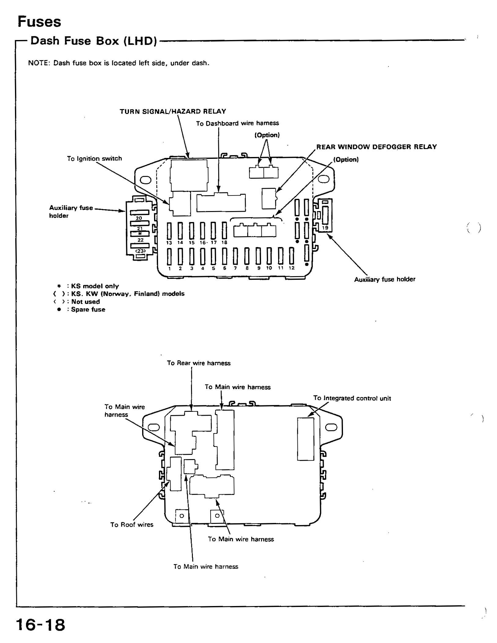 91 Honda Accord Engine Diagram 91 Civic Si Fuse Diagram Honda Tech Honda forum Discussion Of 91 Honda Accord Engine Diagram