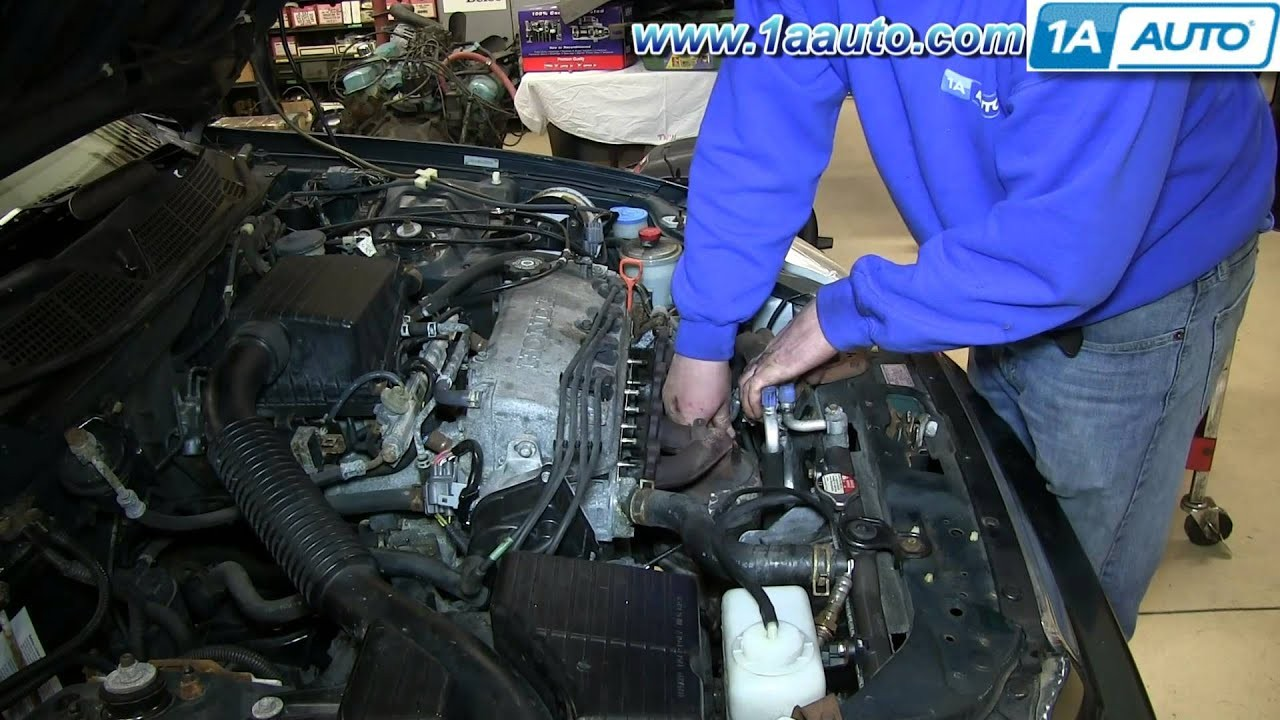 96 Honda Accord Engine Diagram How to Install Replace Exhaust Manifold and Catalytic Converter 1996 Of 96 Honda Accord Engine Diagram