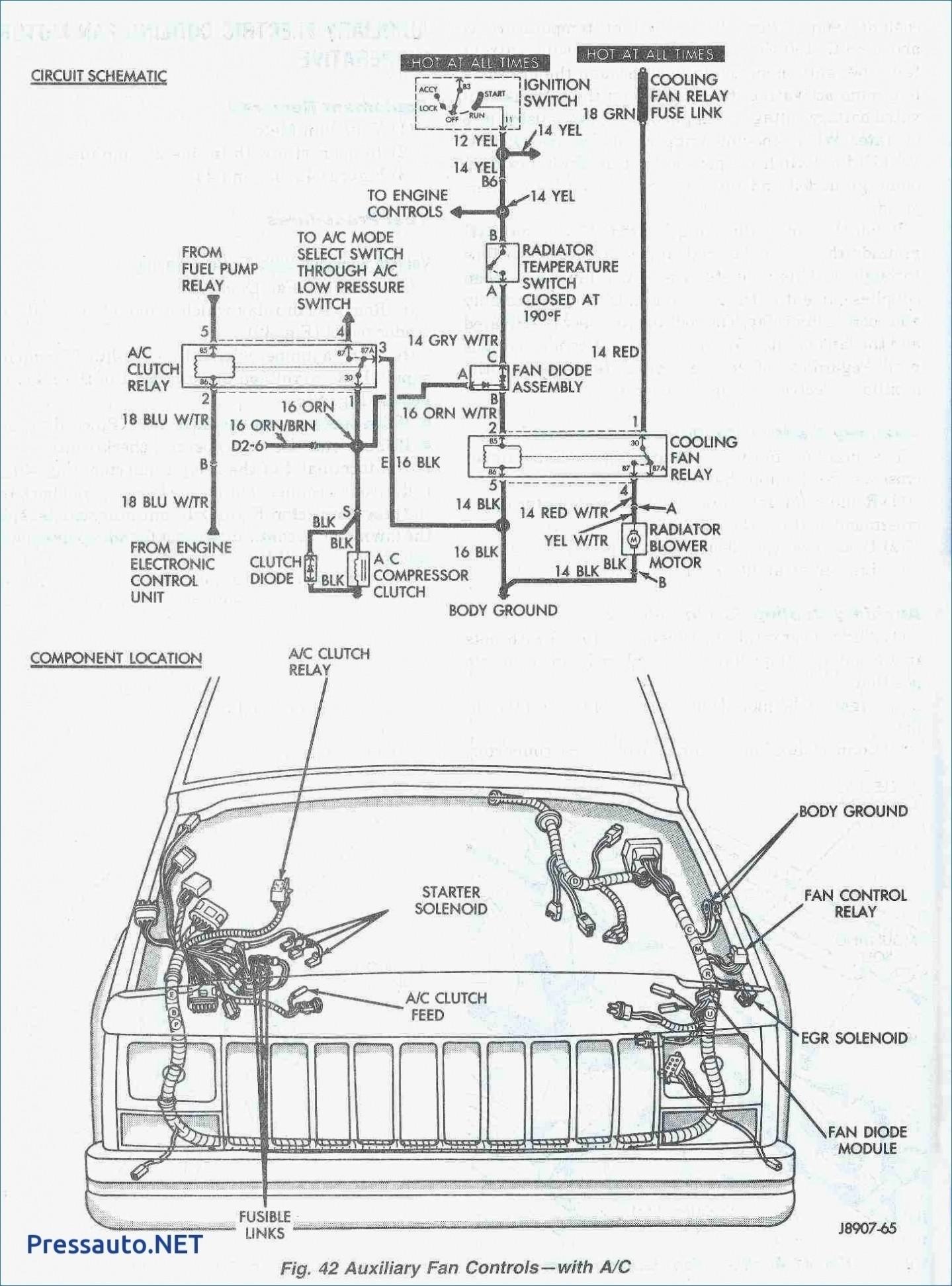 98 jeep cherokee wiring diagram transfer flow trax ii