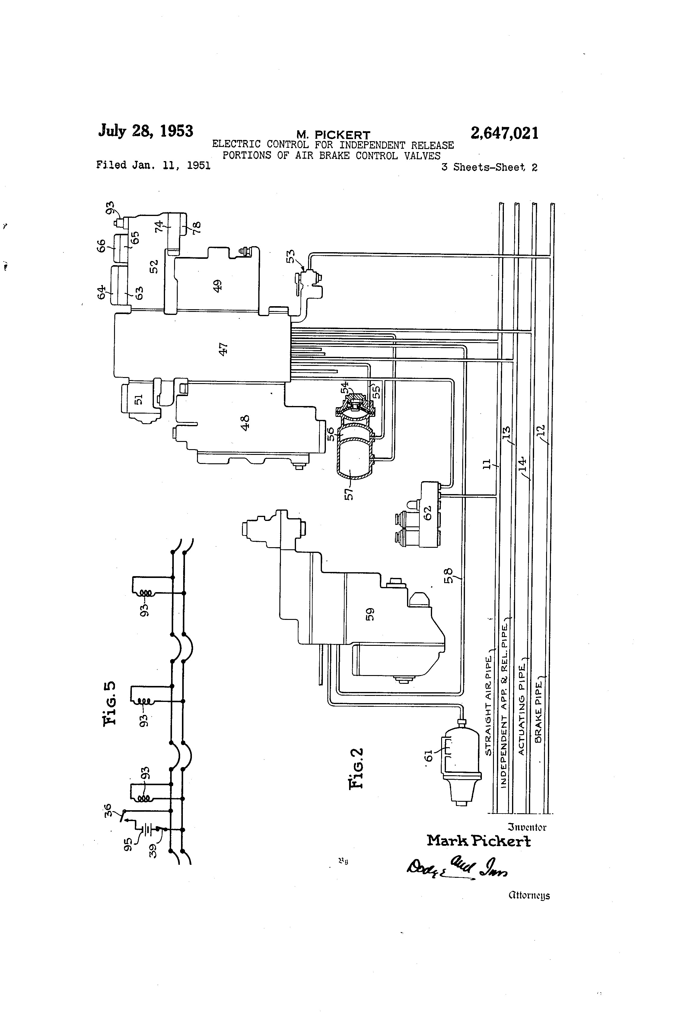 Air Brake Valve Diagram | My Wiring DIagram