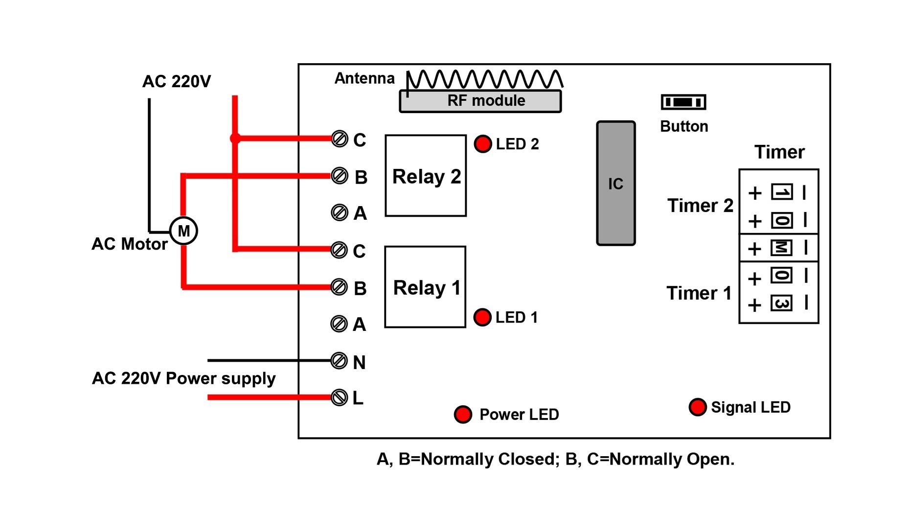 220V Motor Wiring Diagram from detoxicrecenze.com