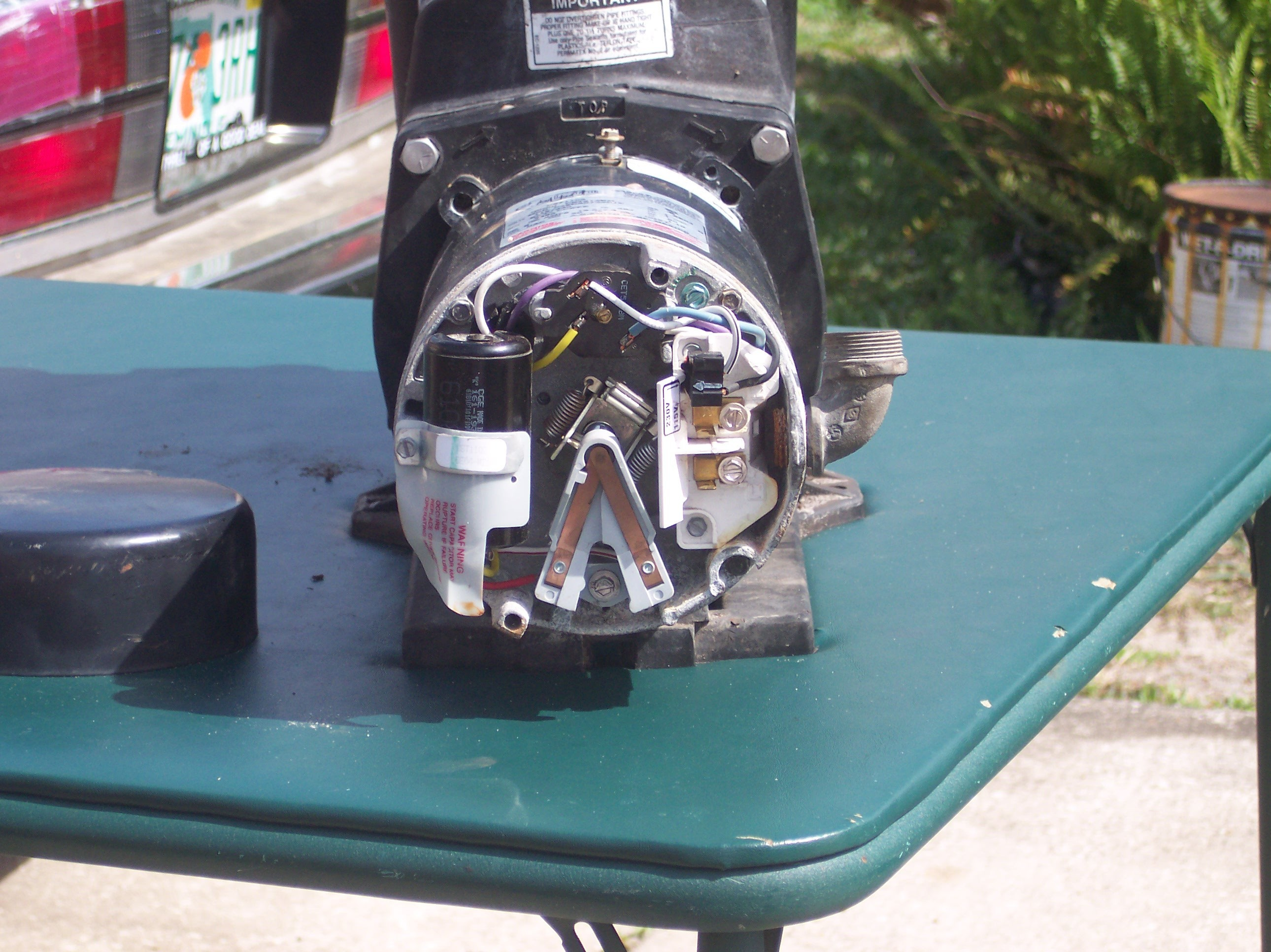 Pump Motor Back Uncovered At Pool Wiring Diagram newstongjl