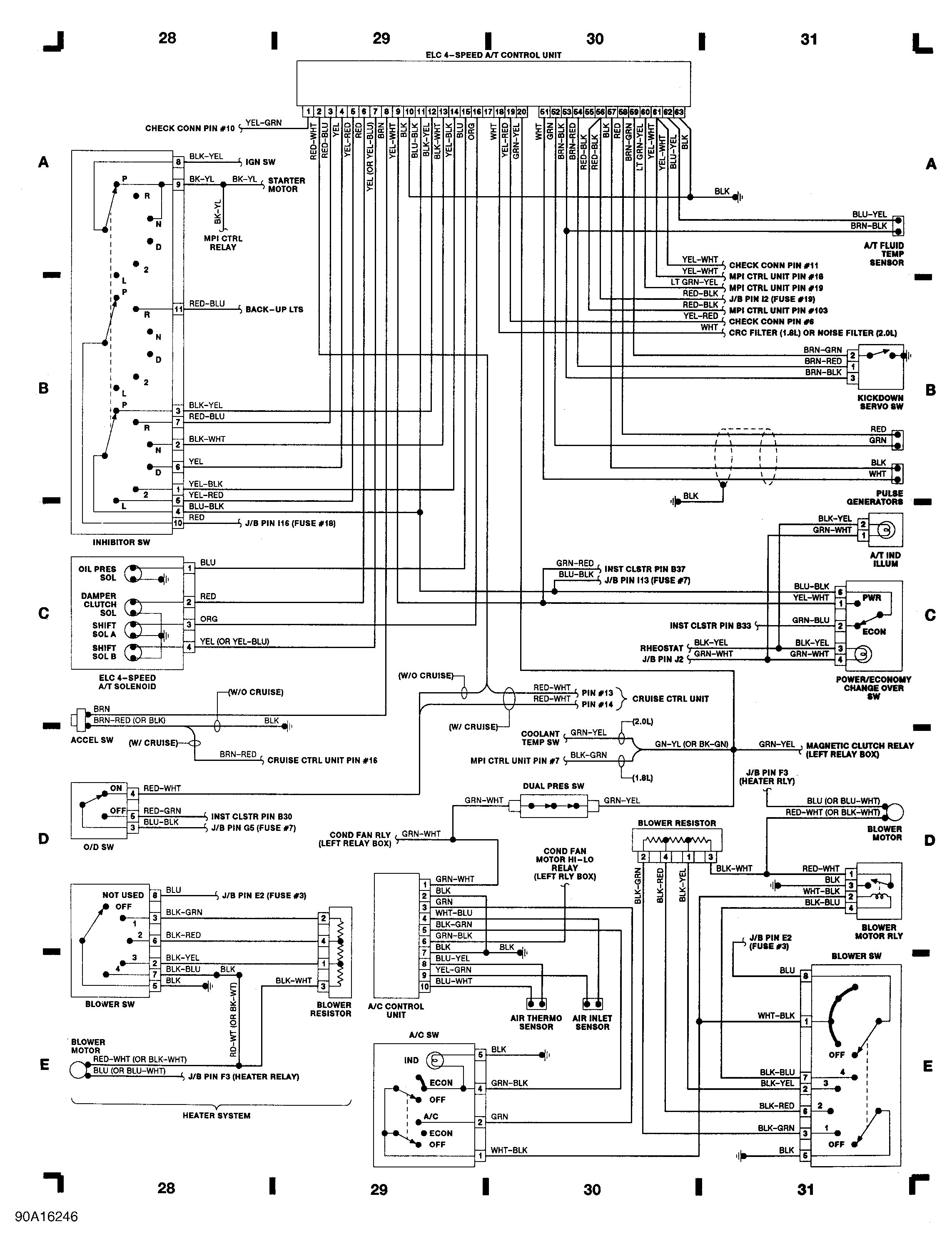 Automatic Transmission Diagram Automatic Transmission Wiring Diagram New Automatic Dsm S