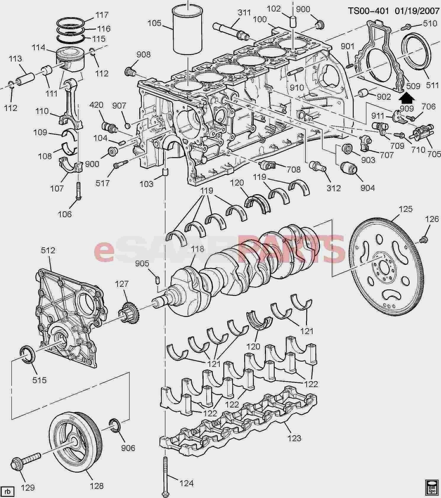 automobile engine diagram
