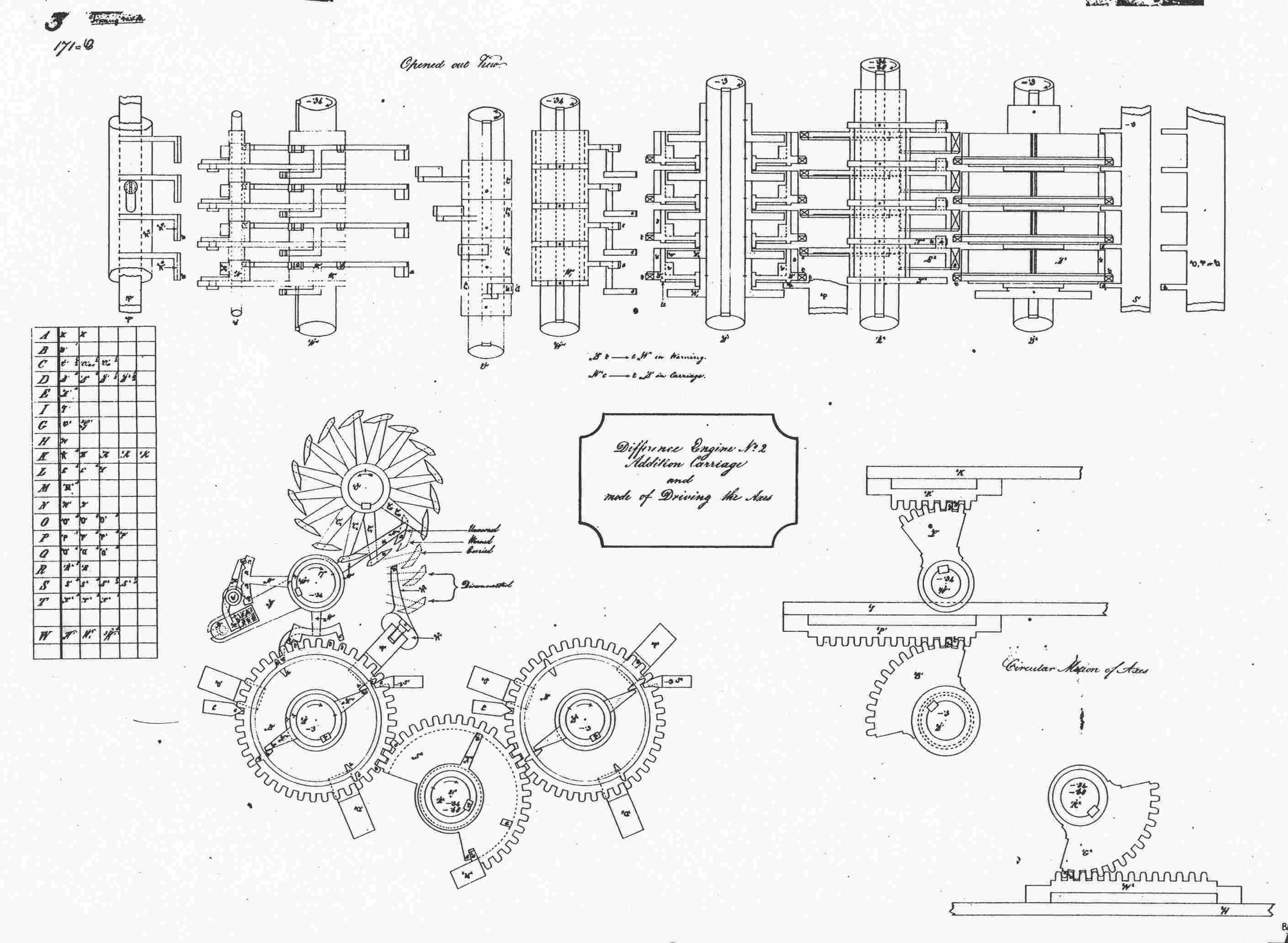 babbage analytical engine diagram