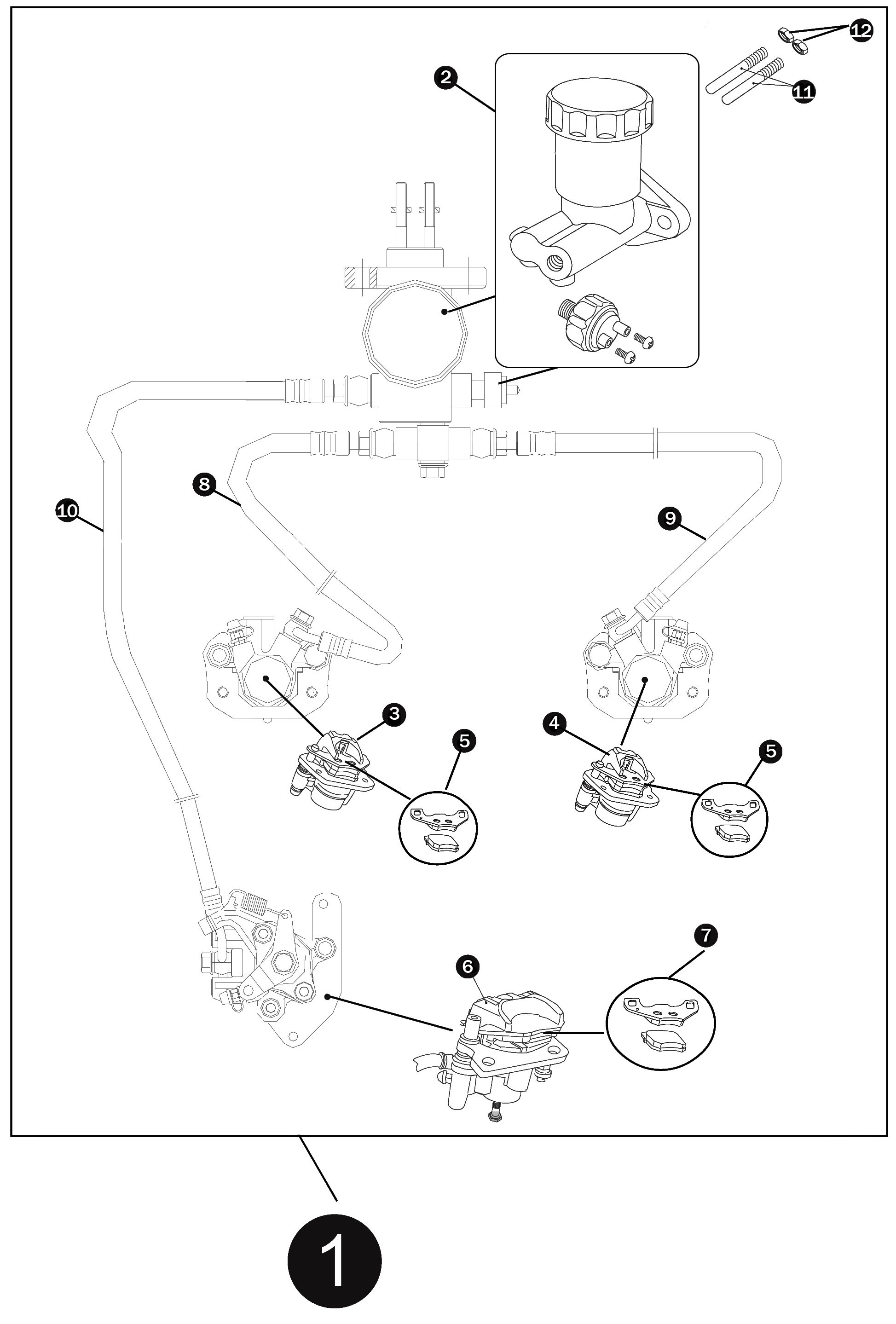 Bike Brake Parts Diagram | My Wiring DIagram