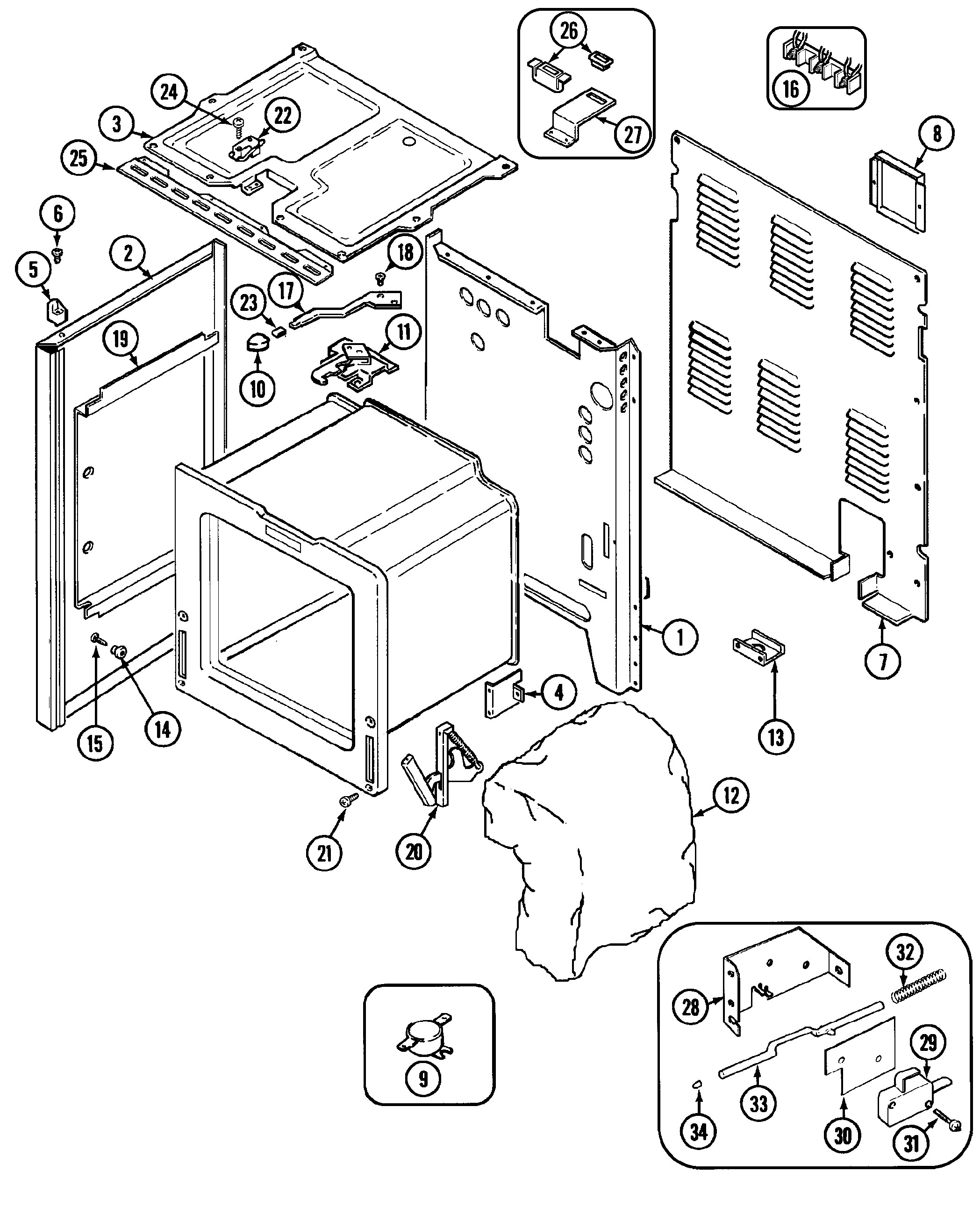 Bosch Dryer Parts Diagram Maytag Cre9600 Timer Stove Clocks and Appliance Timers Of Bosch Dryer Parts Diagram