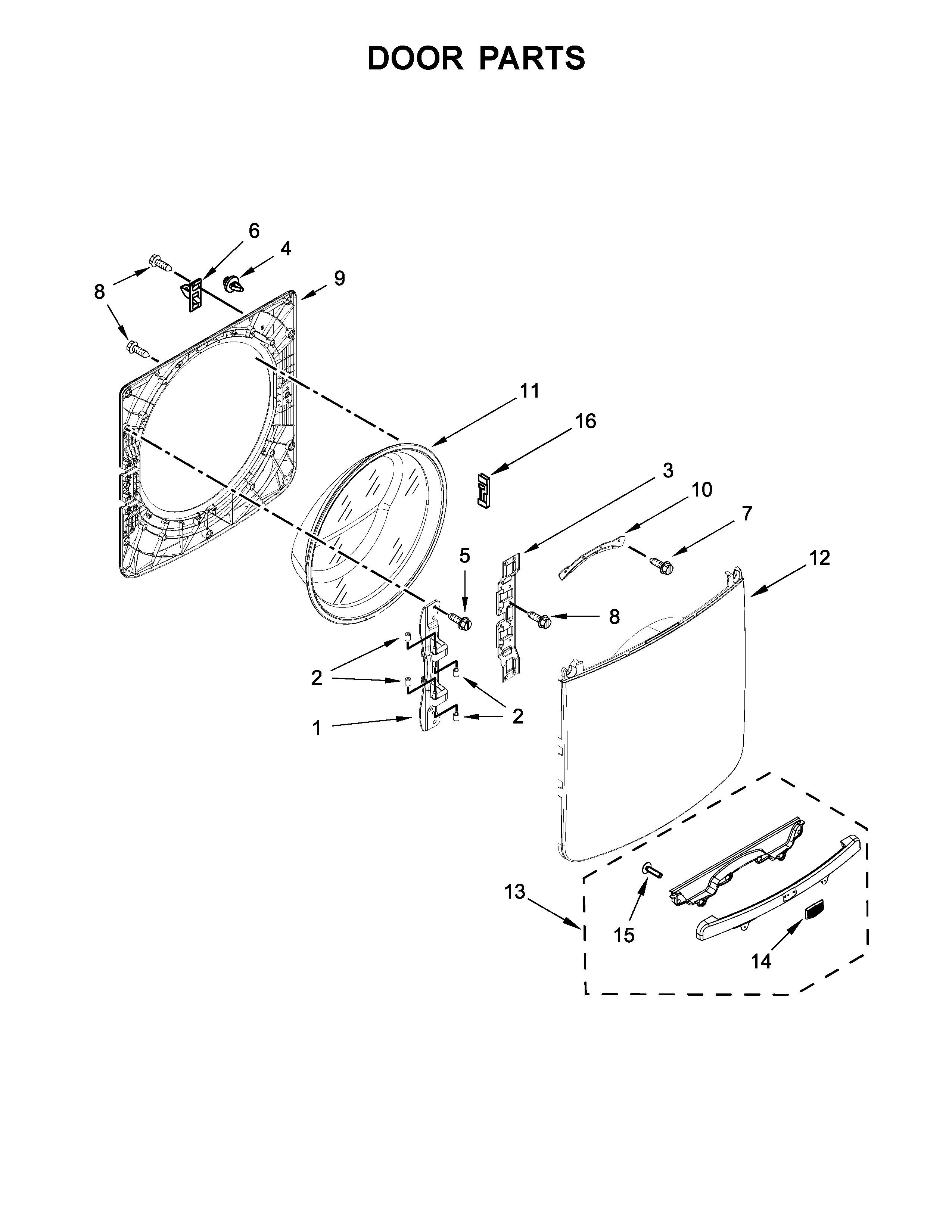 Bosch Dryer Parts Diagram Maytag Model Mhw3505fw1 Residential Washers Genuine Parts Of Bosch Dryer Parts Diagram