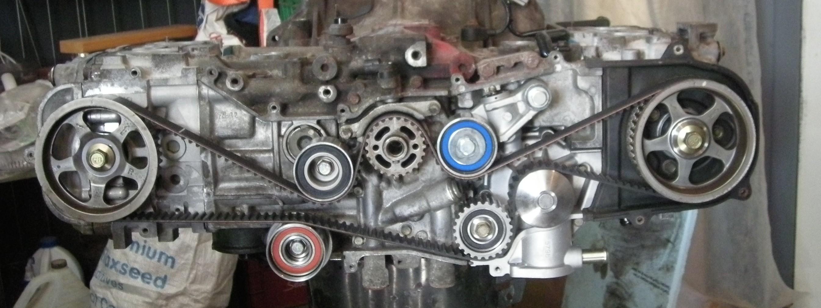 Boxer Engine Diagram How to Set Timing Timing Belt Change On A Subaru sohc Ej25 Of Boxer Engine Diagram