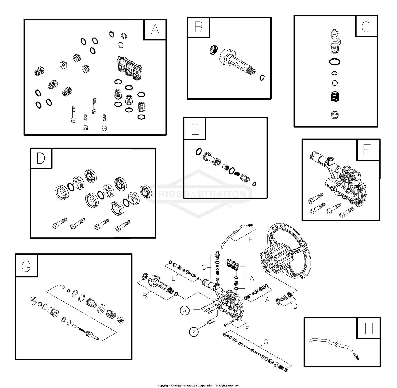 Briggs Stratton Small Engine Parts Diagram Briggs & Stratton Power Products Del 0 Of Briggs Stratton Small Engine Parts Diagram
