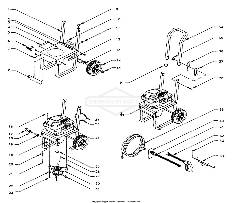 Briggs Stratton Small Engine Parts Diagram Briggs & Stratton Power Products Del 0794 0 Of Briggs Stratton Small Engine Parts Diagram