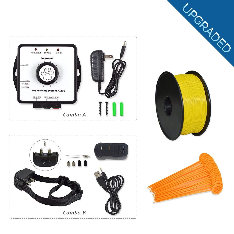 Bury Car Kit Wiring Diagram Amazon Petsn All Wireless Electric Pet Fence In Ground Pet Of Bury Car Kit Wiring Diagram