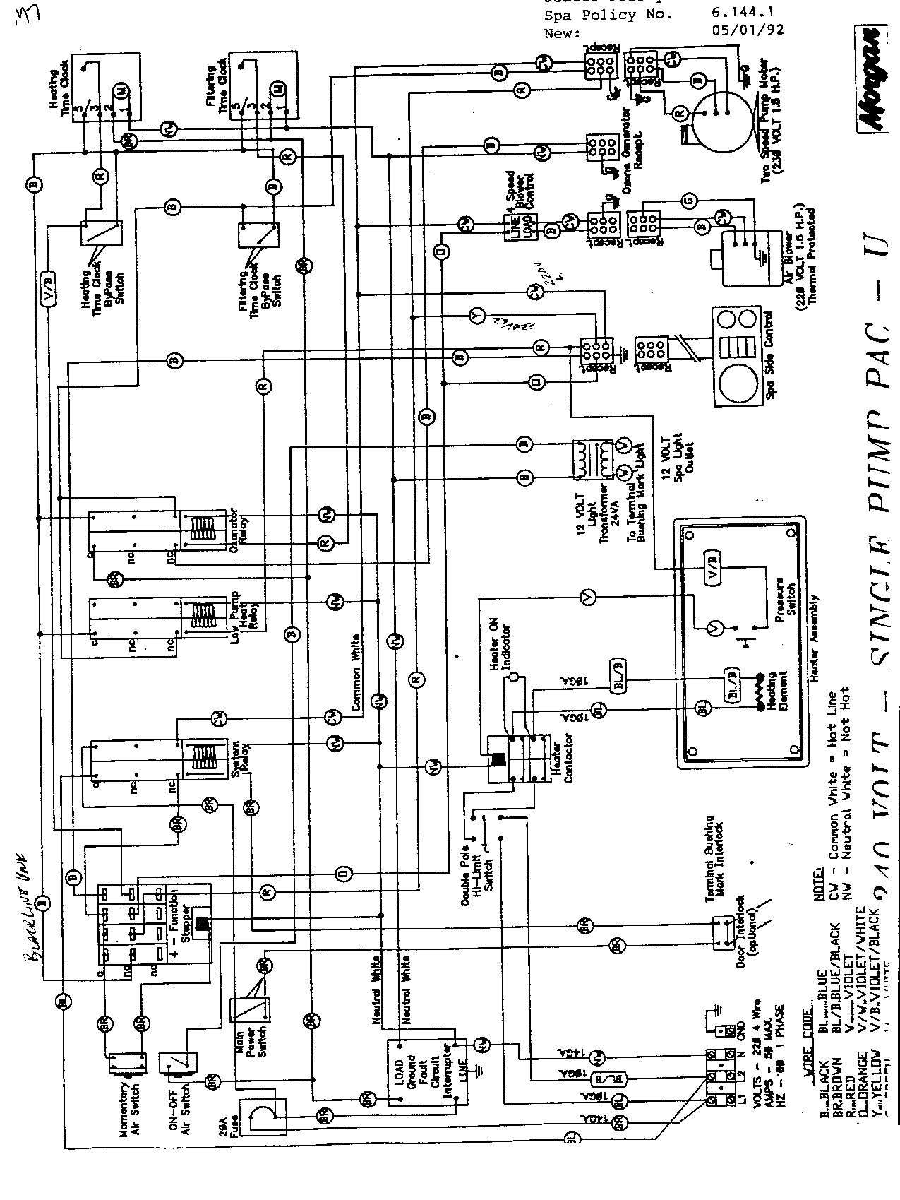 Cal Spa Wiring Diagram Simple Hot Tub Wiring Schematics Wiring Diagrams • Of Cal Spa Wiring Diagram