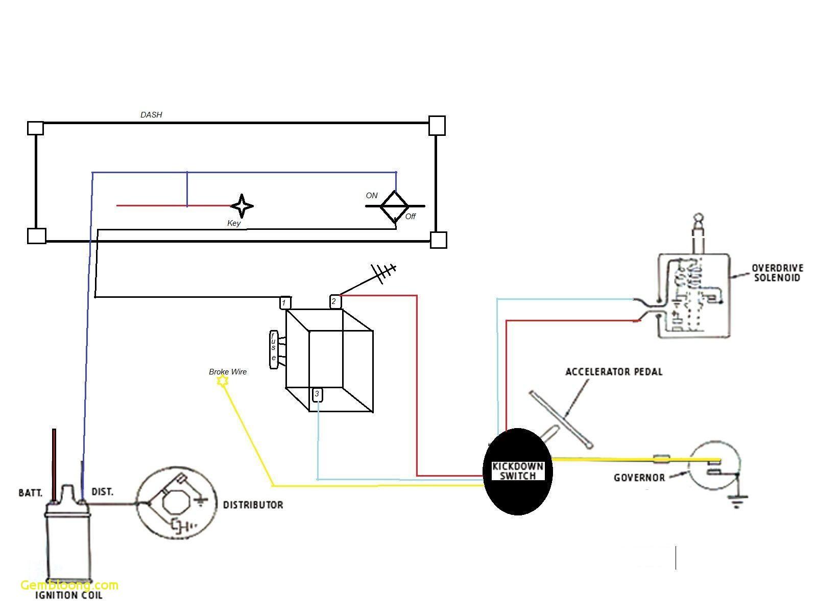 car alternator connection diagram