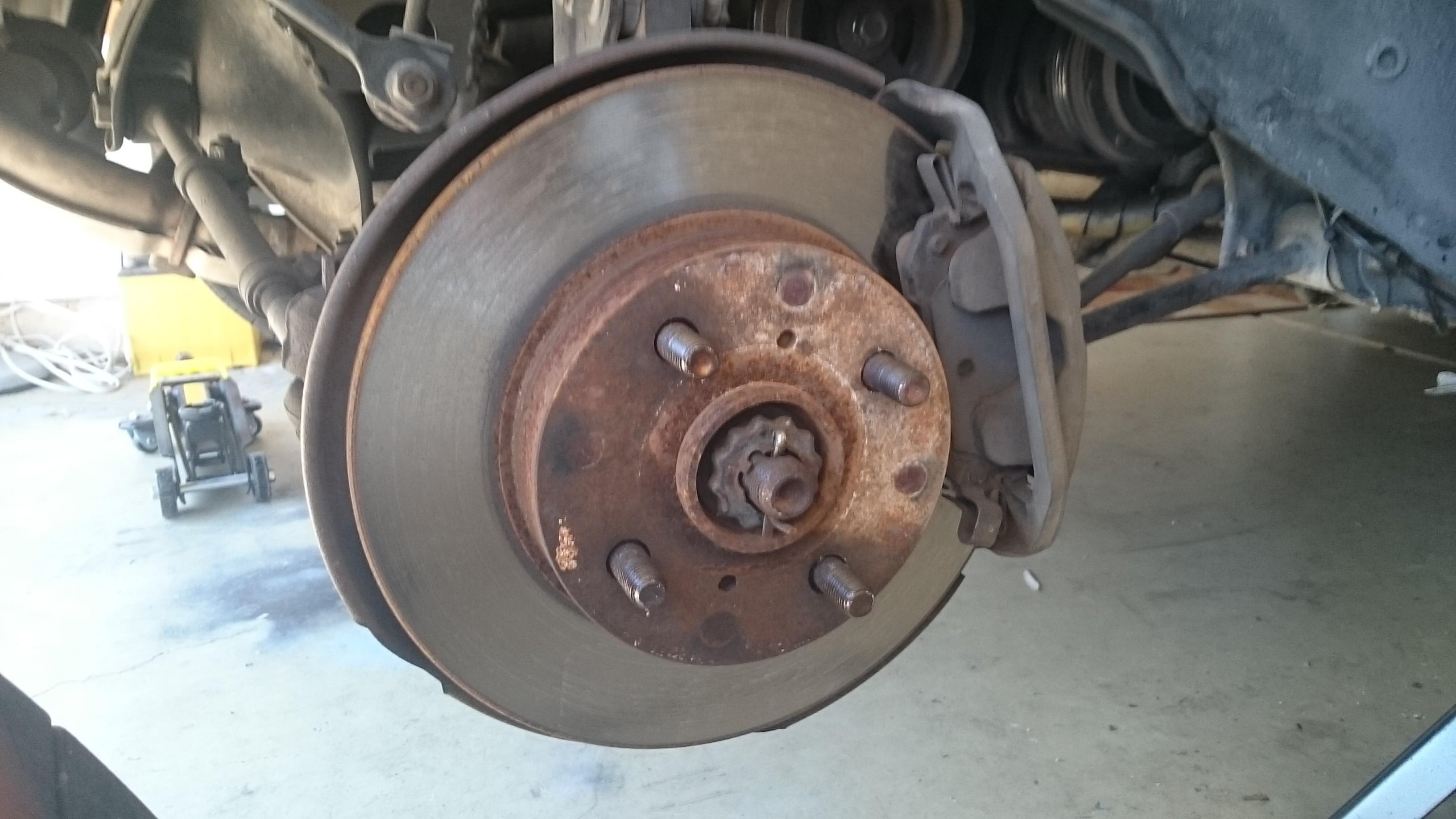 Car Disc Brakes Diagram