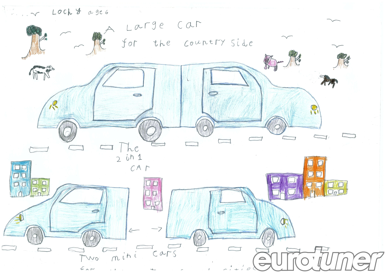 Car Engine Diagram for Kids Children S Visions Of Future Cars Eurotuner Magazine Of Car Engine Diagram for Kids