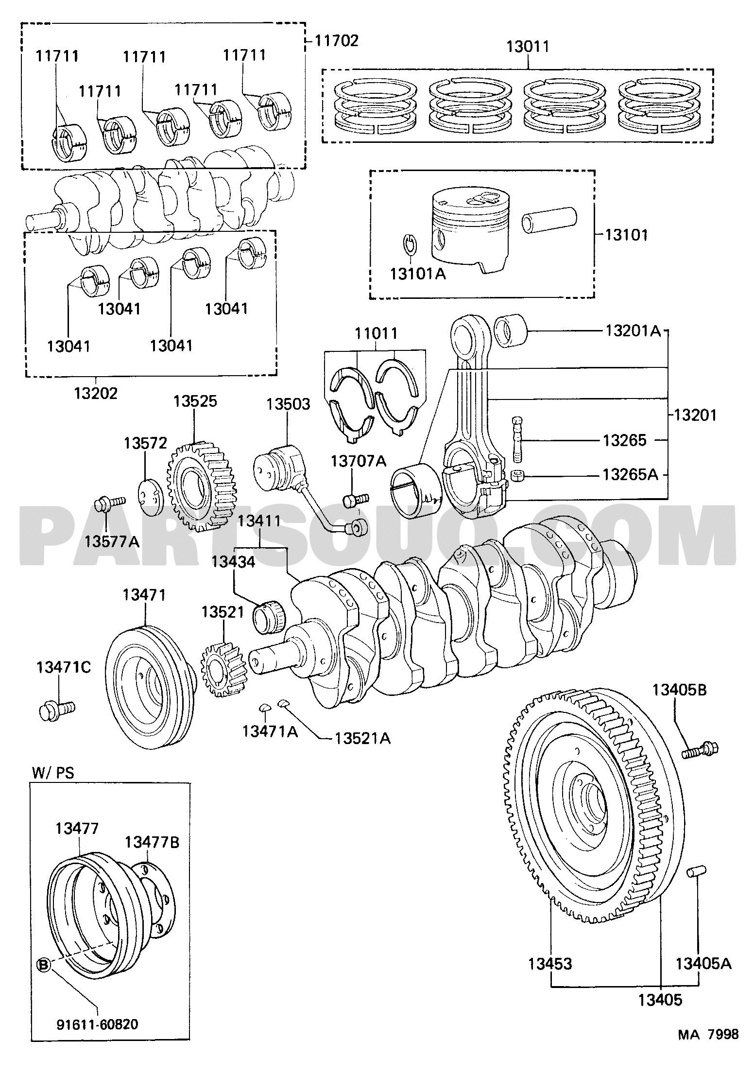 Car Engine Diagram Piston Crankshaft & Piston tool Engine Fuel Group Bj70lv Mrk Of Car Engine Diagram Piston