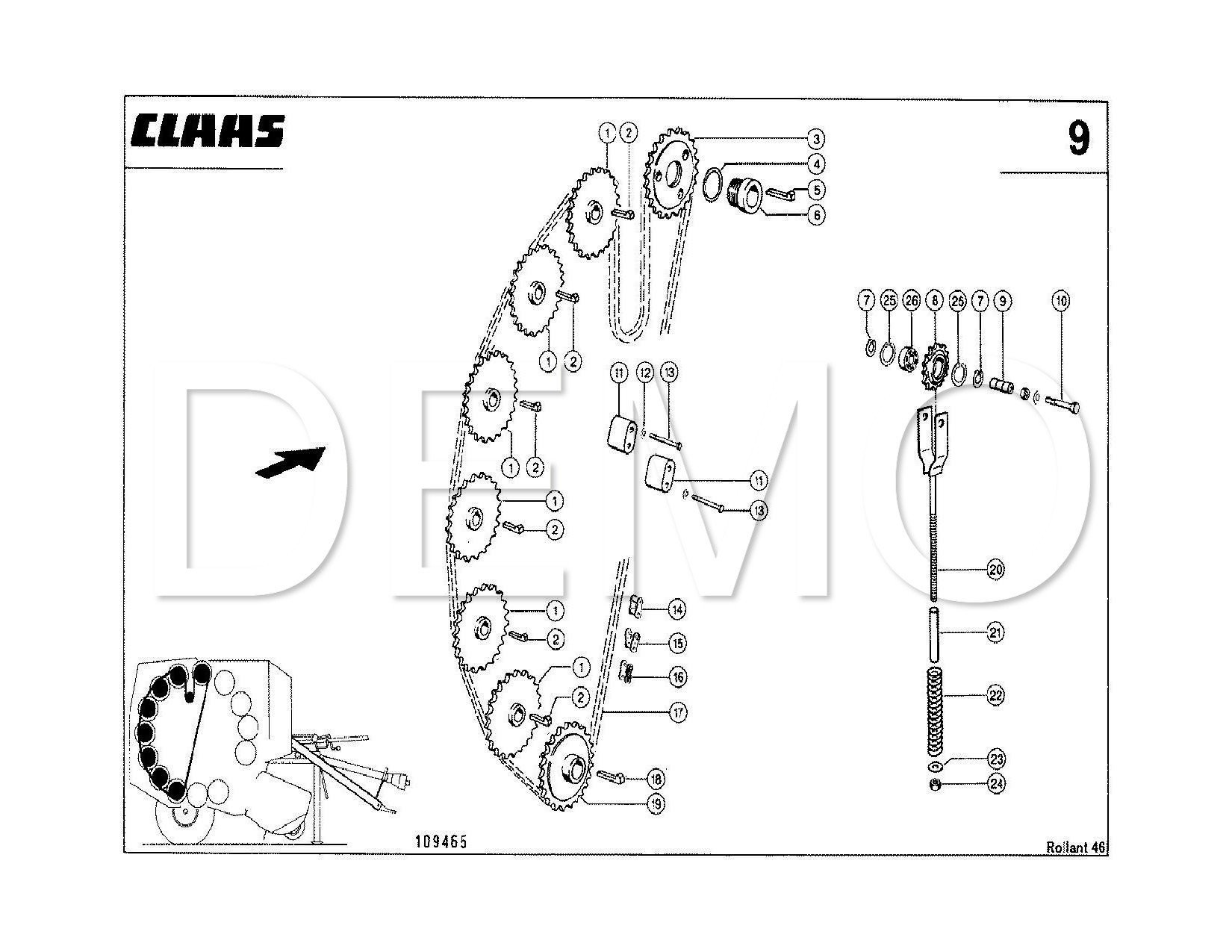 Car Parts Diagram Pdf Claas Rollant 340 Parts Catalogue Spares Manual Pdf Catalog Of Car Parts Diagram Pdf
