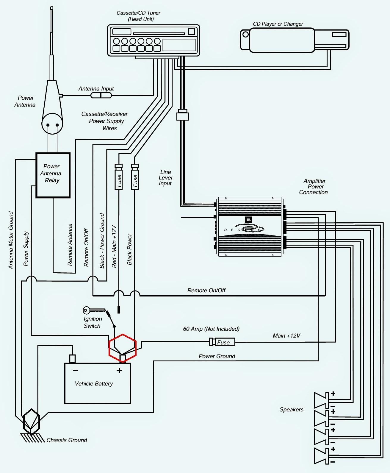 Car Radio Harness Diagram Pioneer Mosfet 50wx4 Wiring Harness Diagram Simplified Shapes Wiring Of Car Radio Harness Diagram
