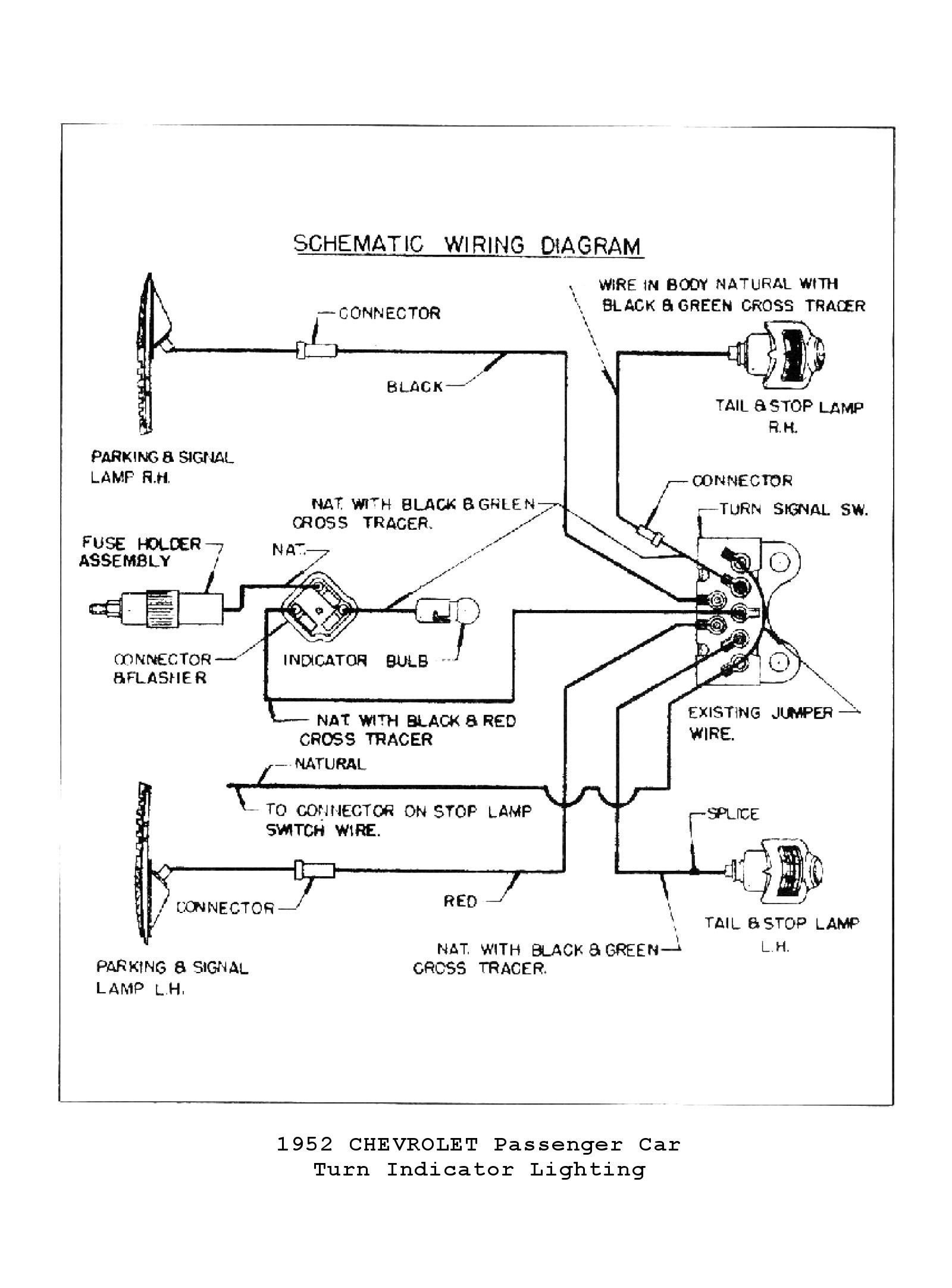 Car Signal Light Wiring Diagram Chevy Wiring Diagrams Of Car Signal Light Wiring Diagram