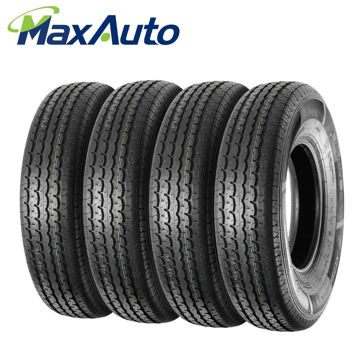 Car Tire Rotation Diagram Amazon Set Of 4 St 175 80r13 8ply Trailer Tires Load Range D Of Car Tire Rotation Diagram