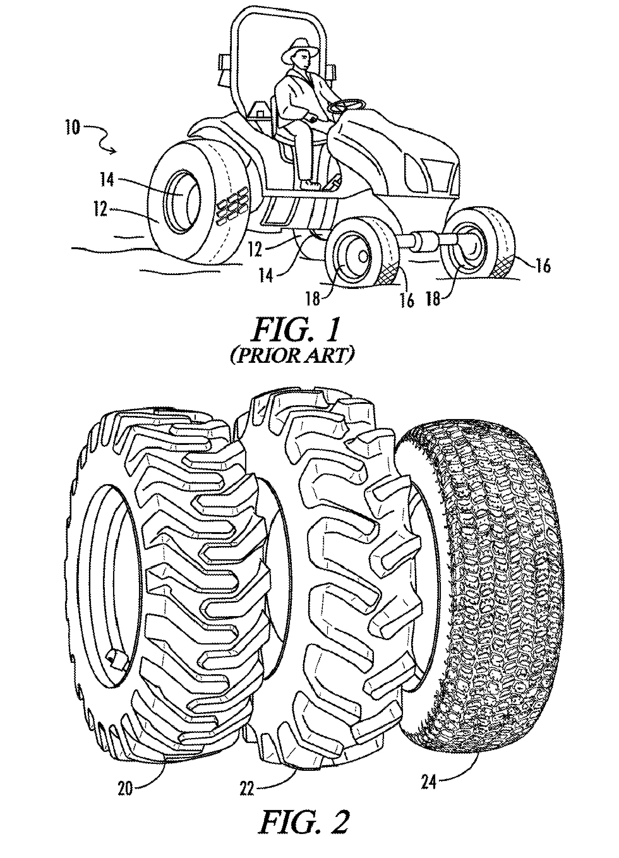 Car Tire Rotation Diagram
