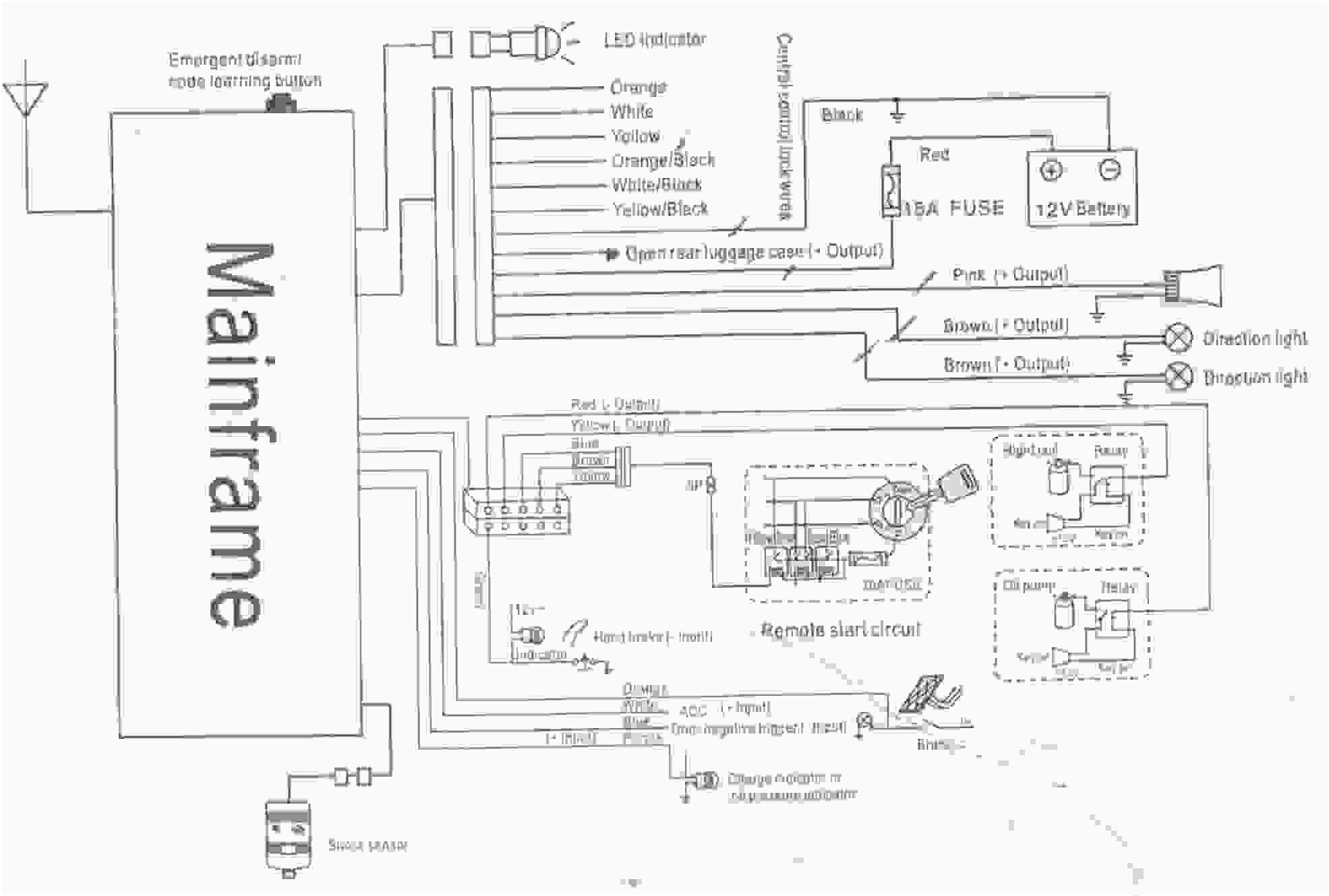 Clifford Alarm Wiring Diagram