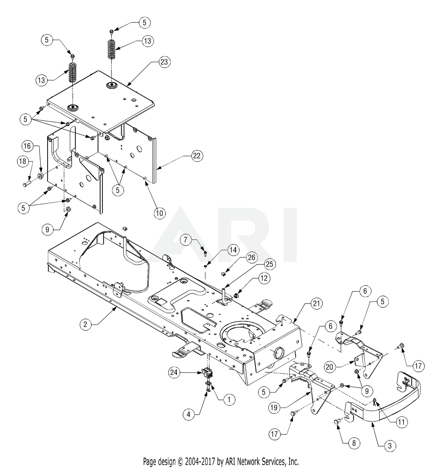 Cub Cadet Lt1042 Parts Diagram Cub Cadet Parts Diagrams Cub Cadet Lt1042 Tractor 2007 & before Of Cub Cadet Lt1042 Parts Diagram