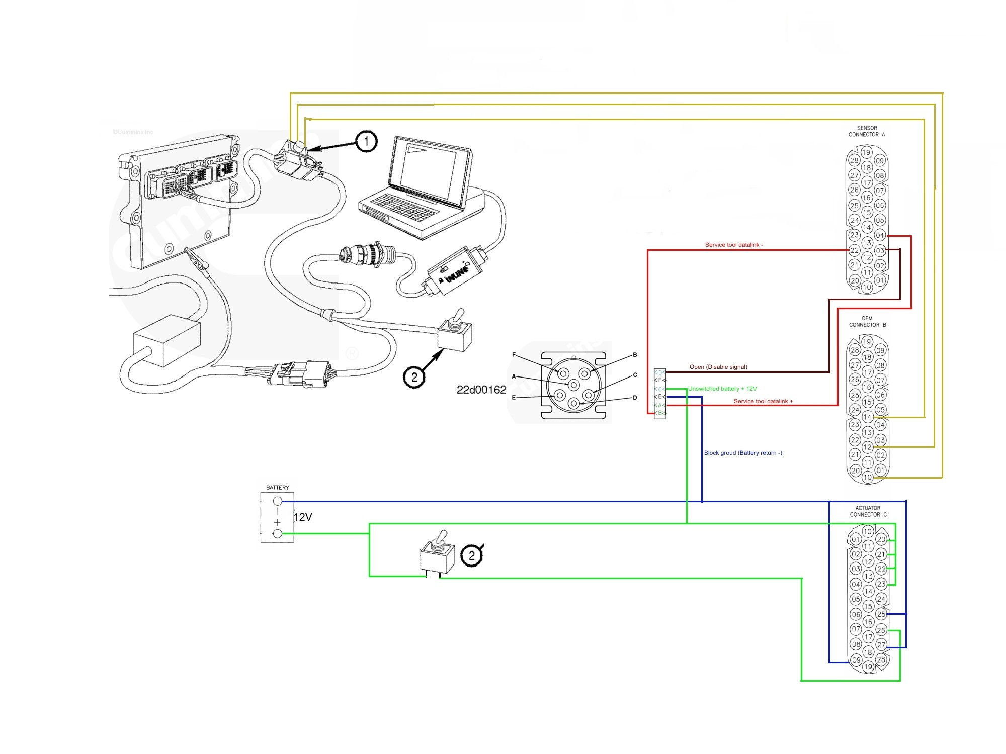 N14 Celect Wiring Diagrams For Freightliner Trucks on