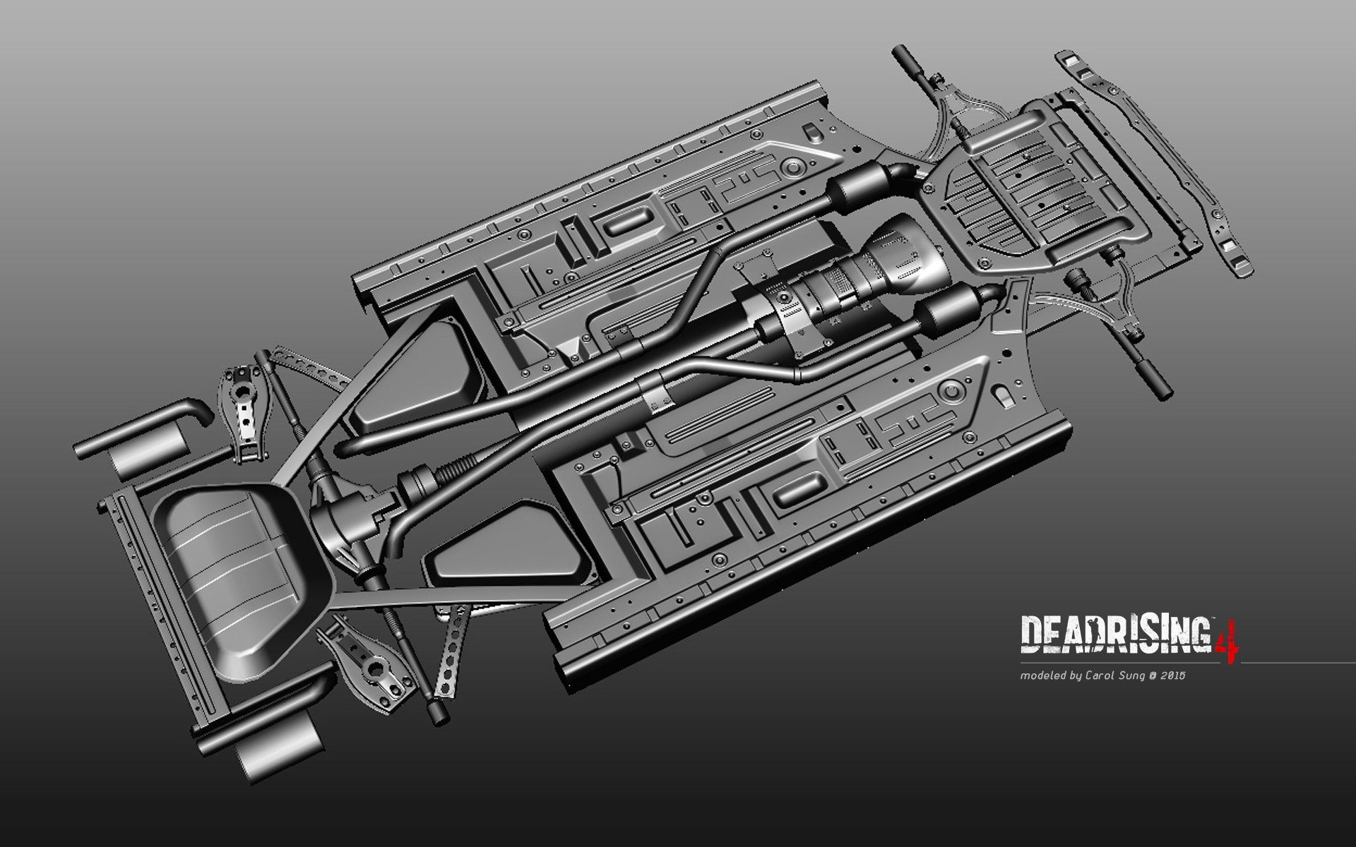 Diagram Of Car Undercarriage Carol Sung Dead Rising 4 Dead Vehicle Undercarriage