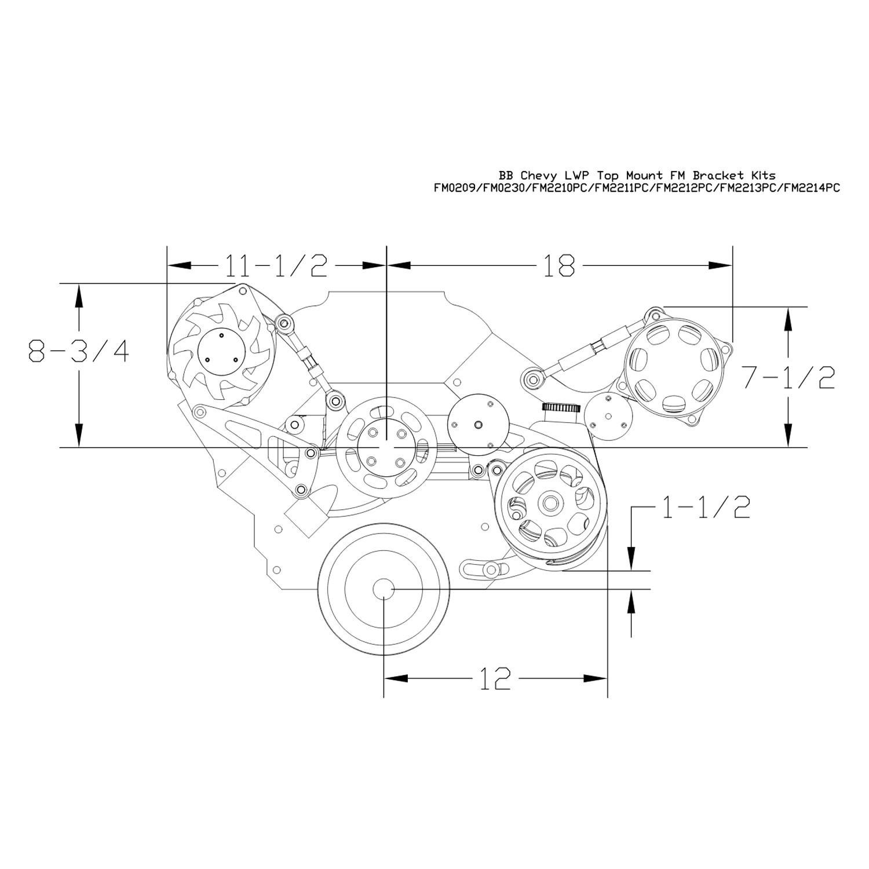 Billet Specialties Power Steering Pump
