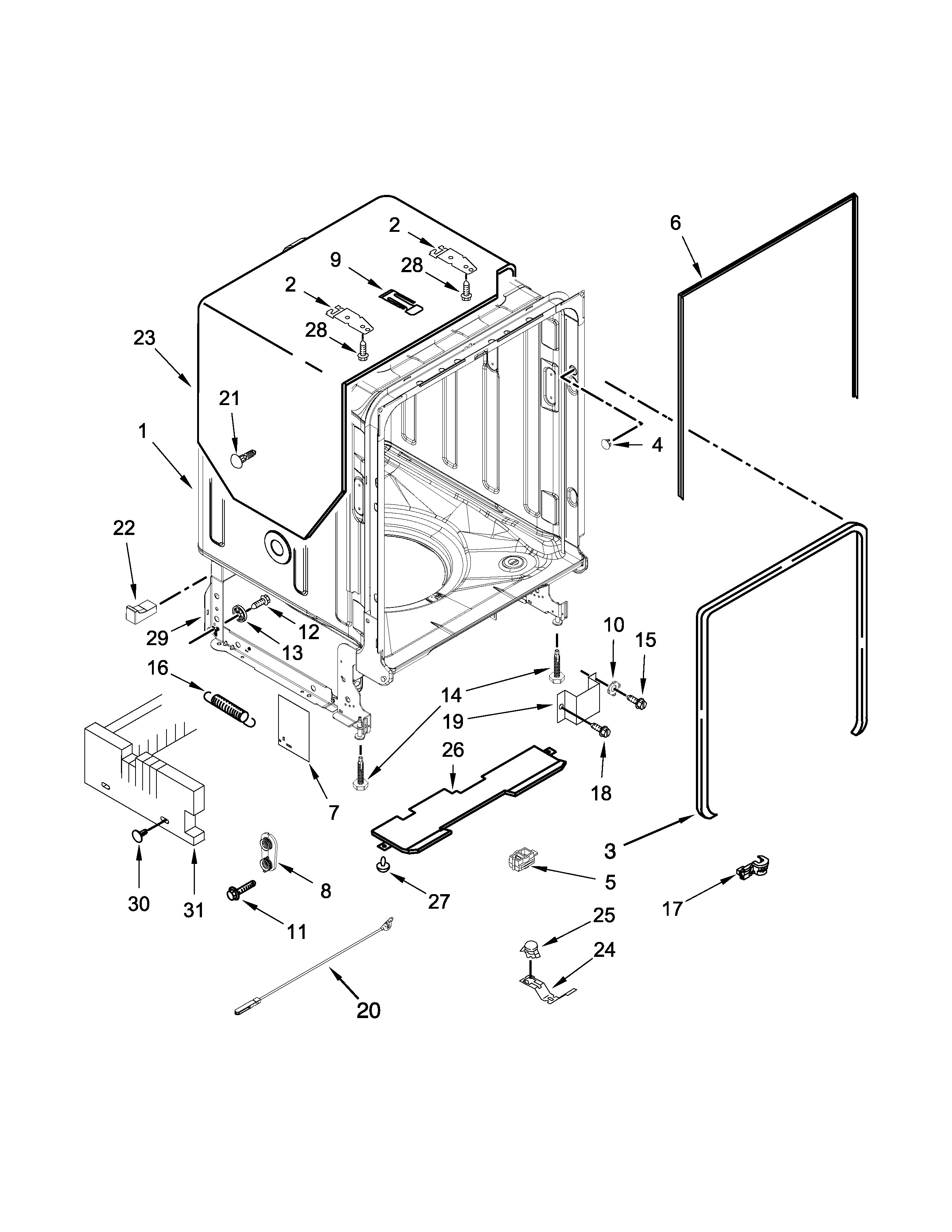 Double Hung Window Parts Diagram Maytag Model Mdb7949sdm0 Dishwasher Genuine Parts Of Double Hung Window Parts Diagram