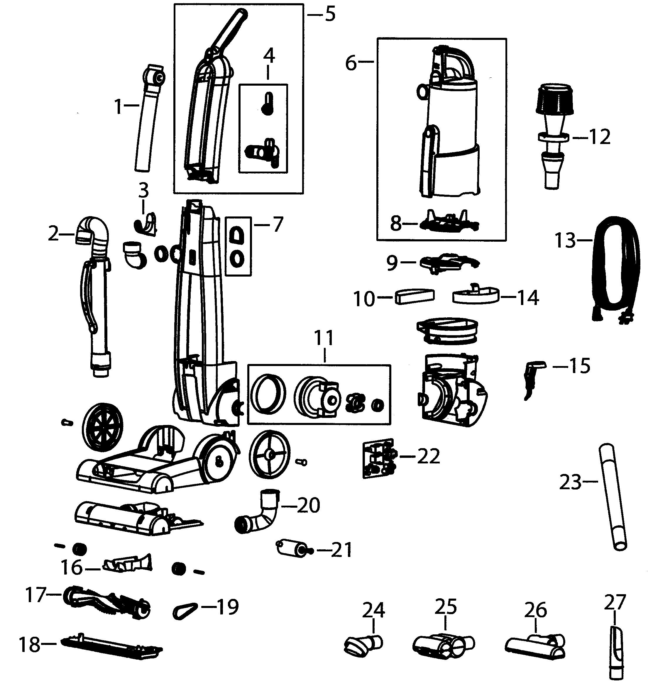 Dyson Vacuum Parts Diagram Vacuum Parts Bissell Parts Vacuum Of Dyson Vacuum Parts Diagram