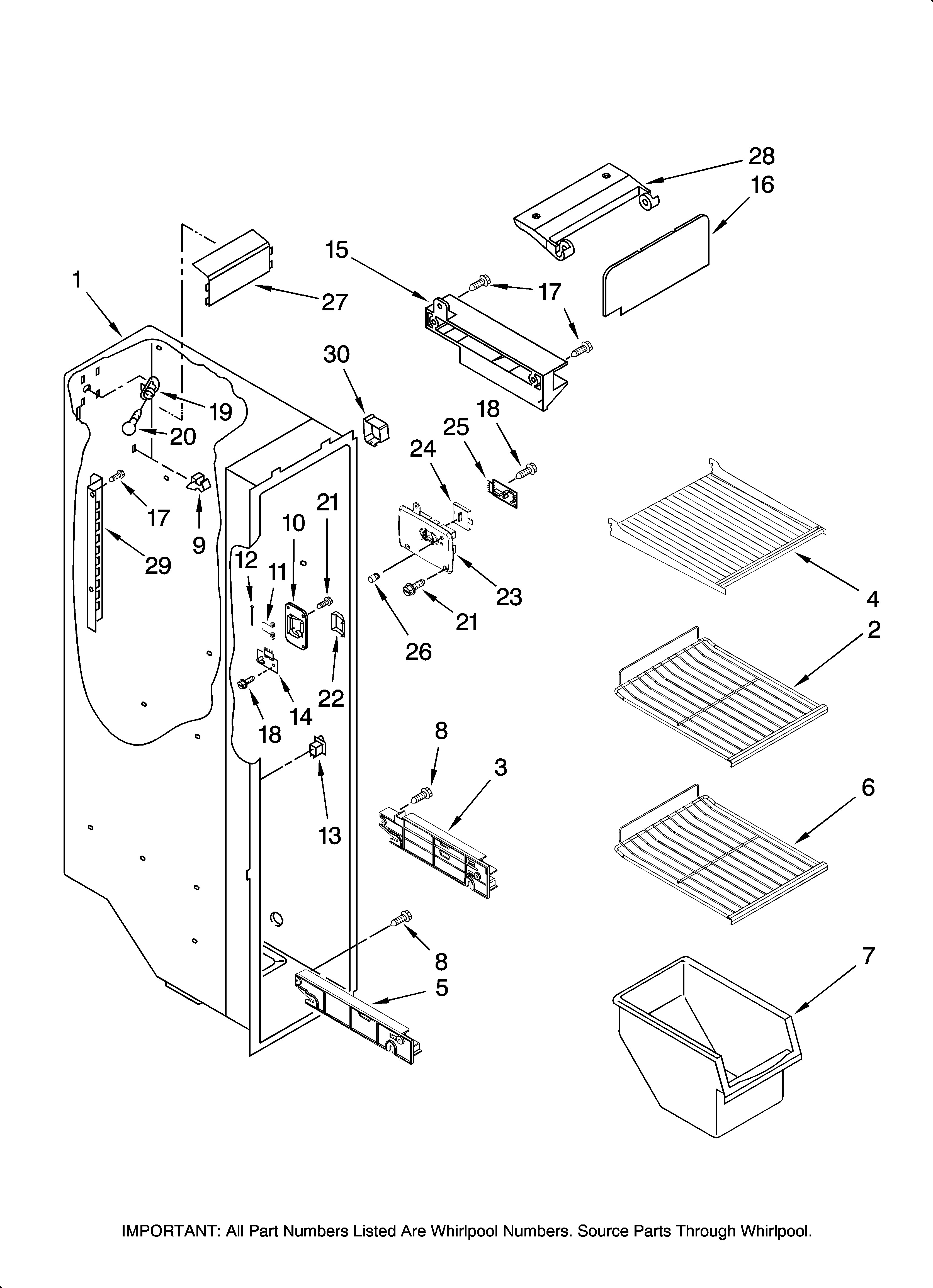 electrolux refrigerator parts diagram frigidaire model