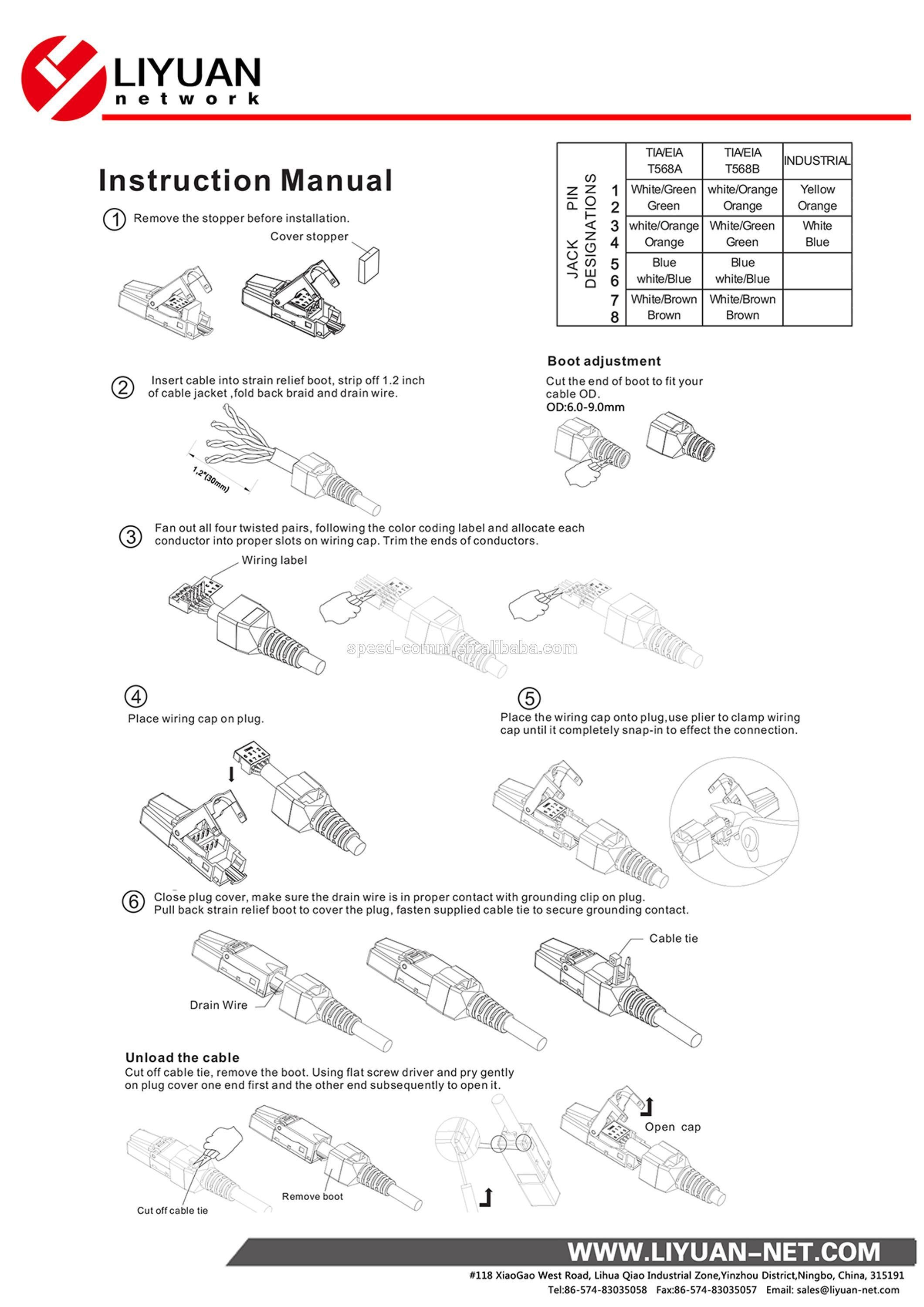 ethernet patch cable wiring diagram