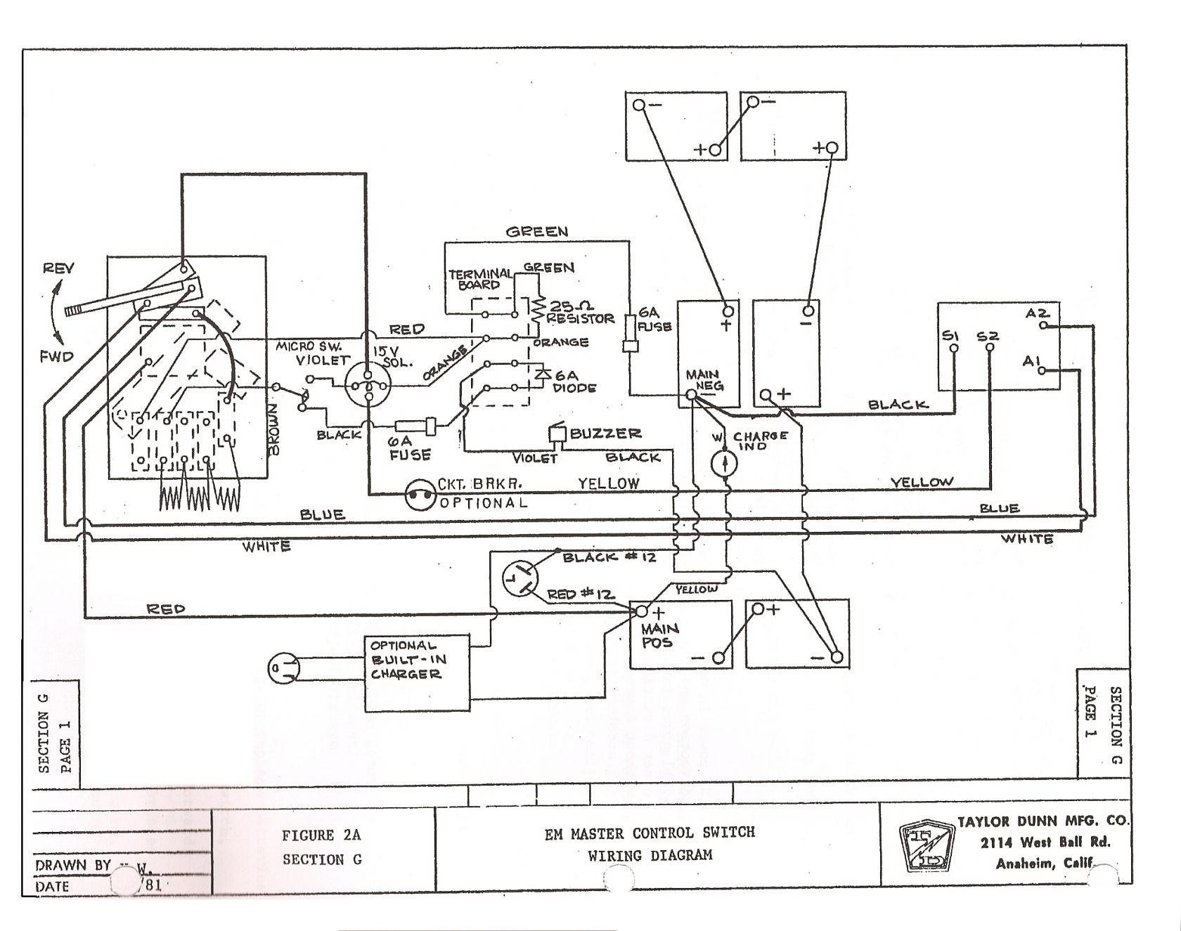ez go golf cart engine diagram