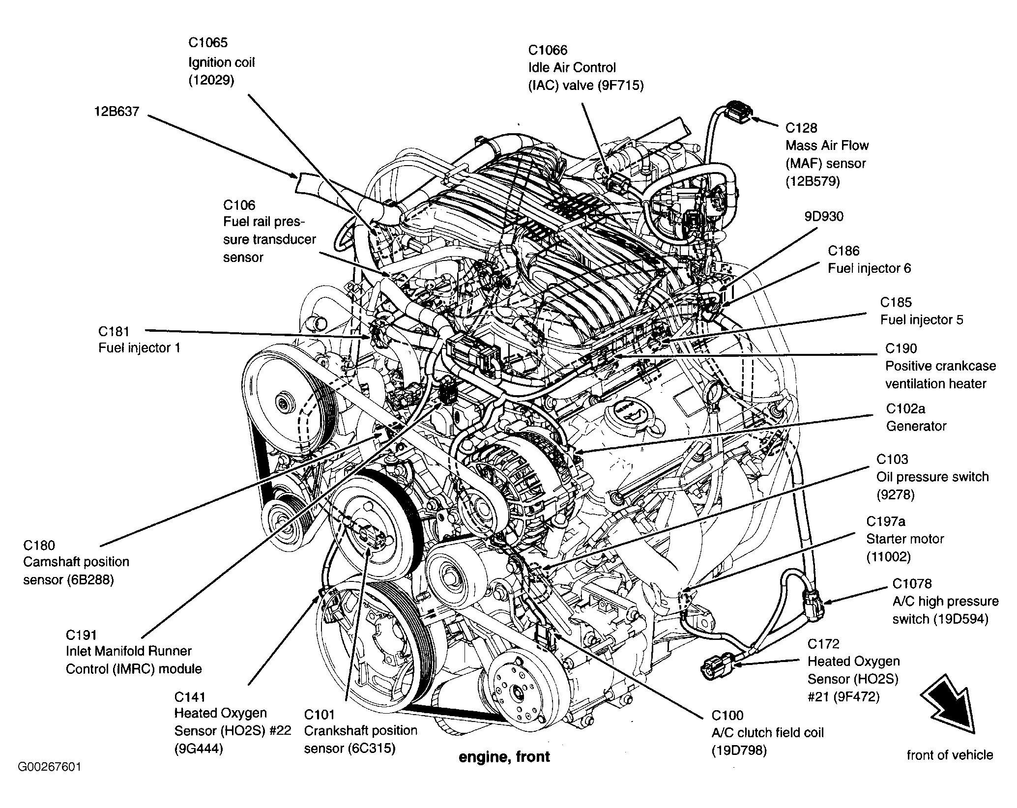 ford escape engine diagram ford escape engine diagram