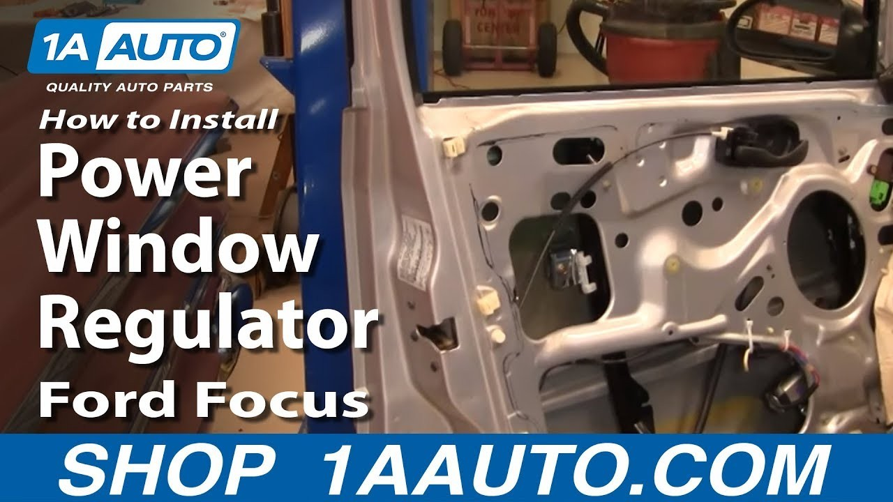 Ford Focus 2002 Engine Diagram How to Install Replace Front Power Window Regulator ford Focus 00 07 Of Ford Focus 2002 Engine Diagram