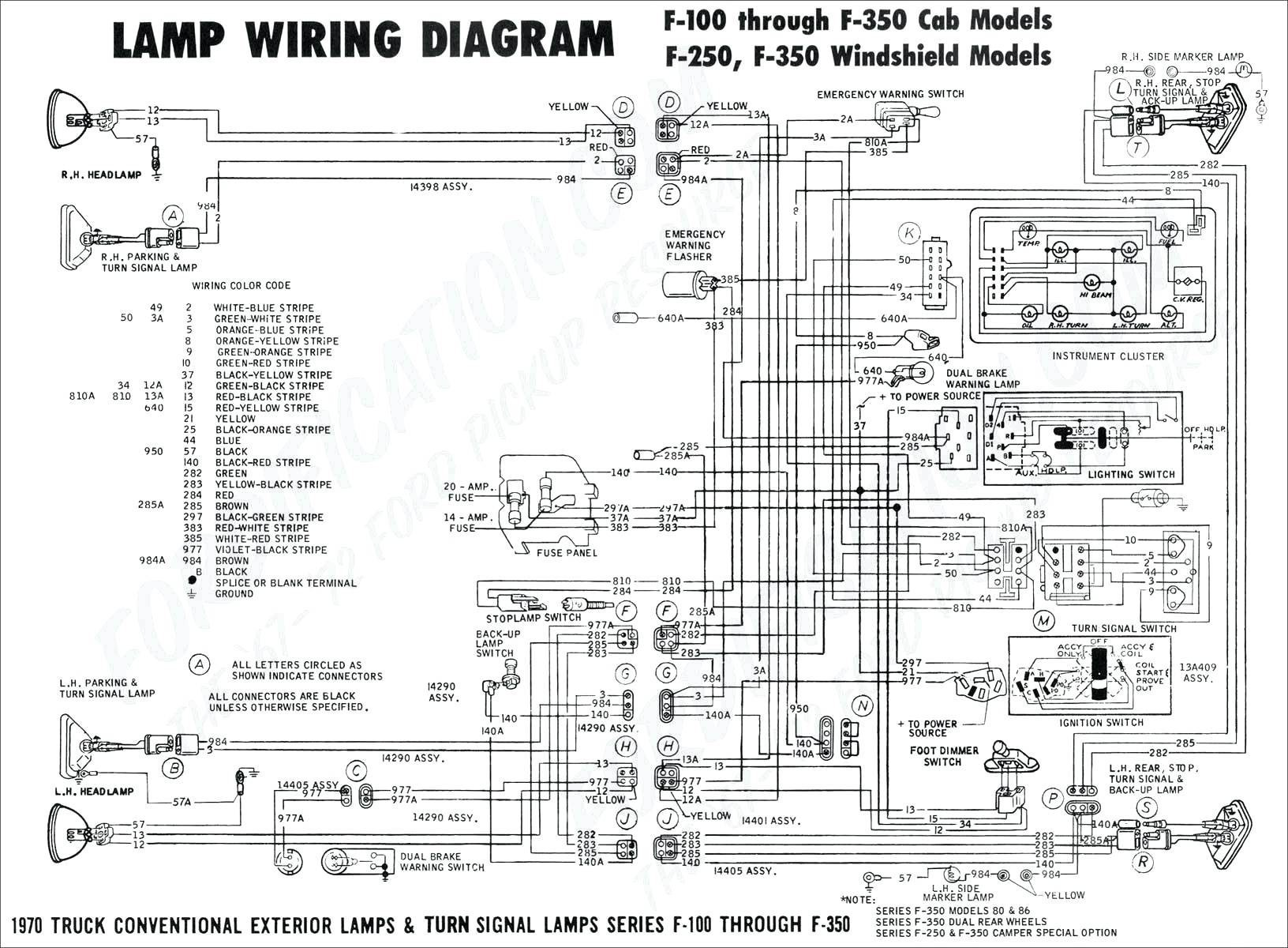 ford ranger wiring harness diagram