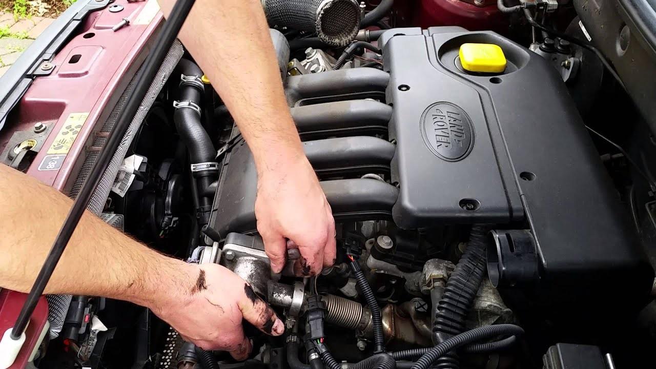 Freelander Engine Diagram Land Rover Td4 Bmw 2 0d Egr Valve Delete Blanking Kit Install Of Freelander Engine Diagram